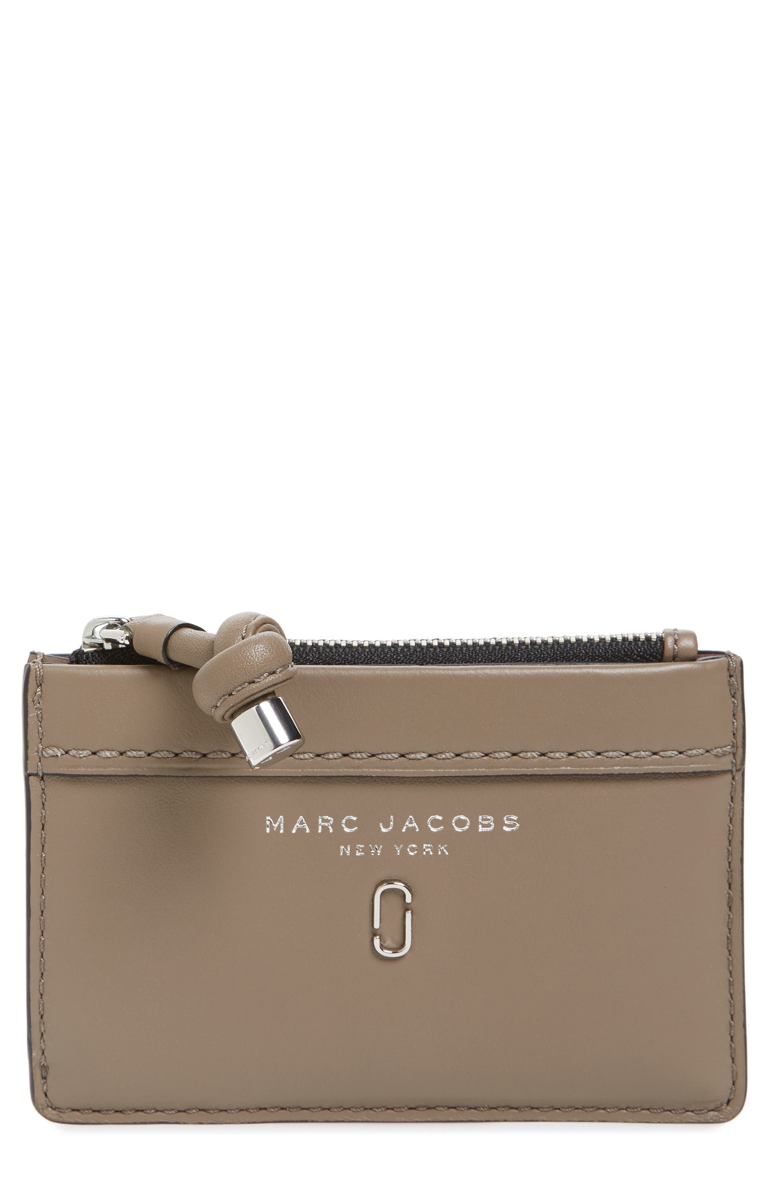 Main Image - MARC JACOBS Tied Up Leather Wallet