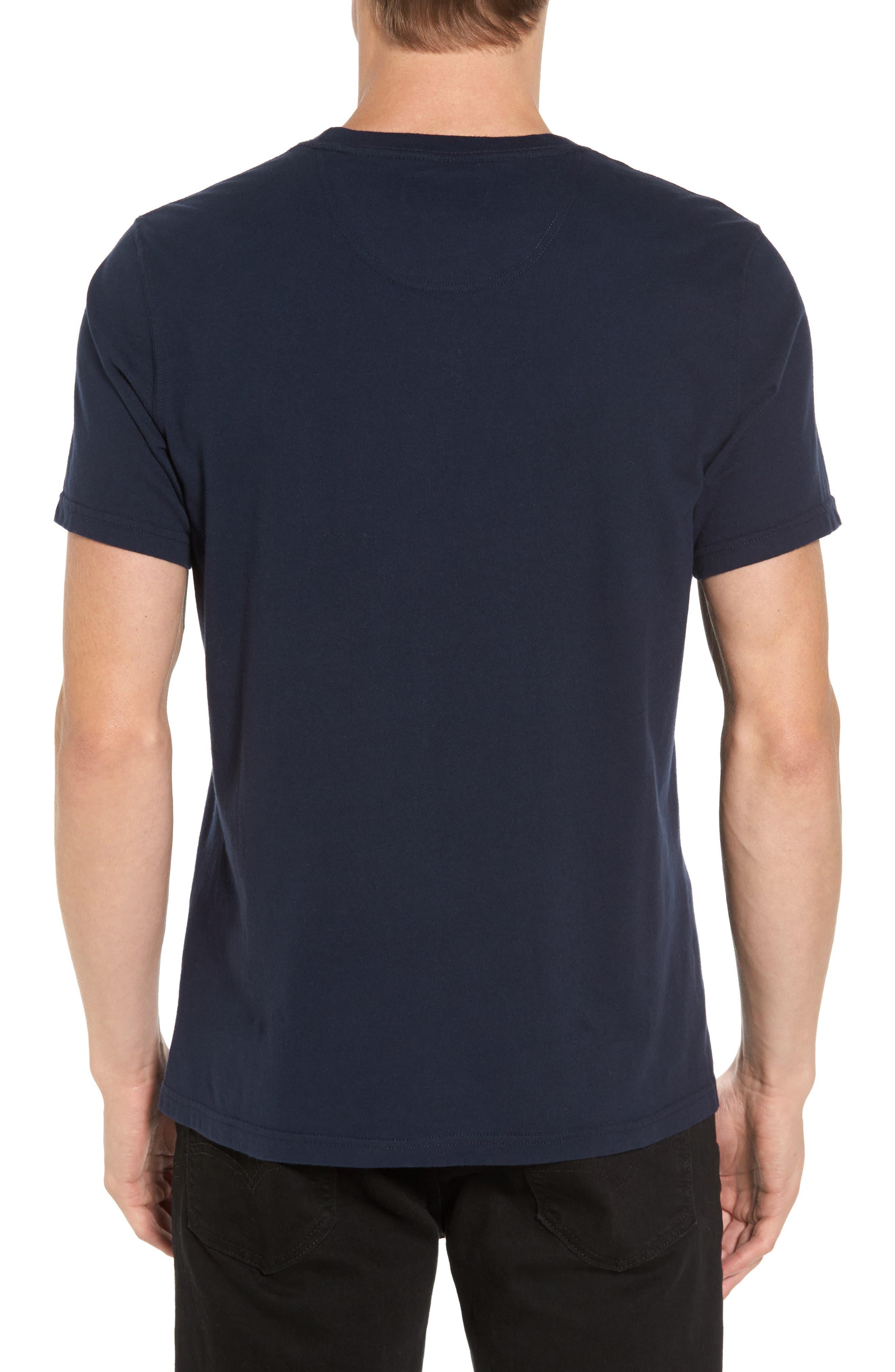 Berwick Logo Graphic T-Shirt,                             Alternate thumbnail 2, color,                             Navy