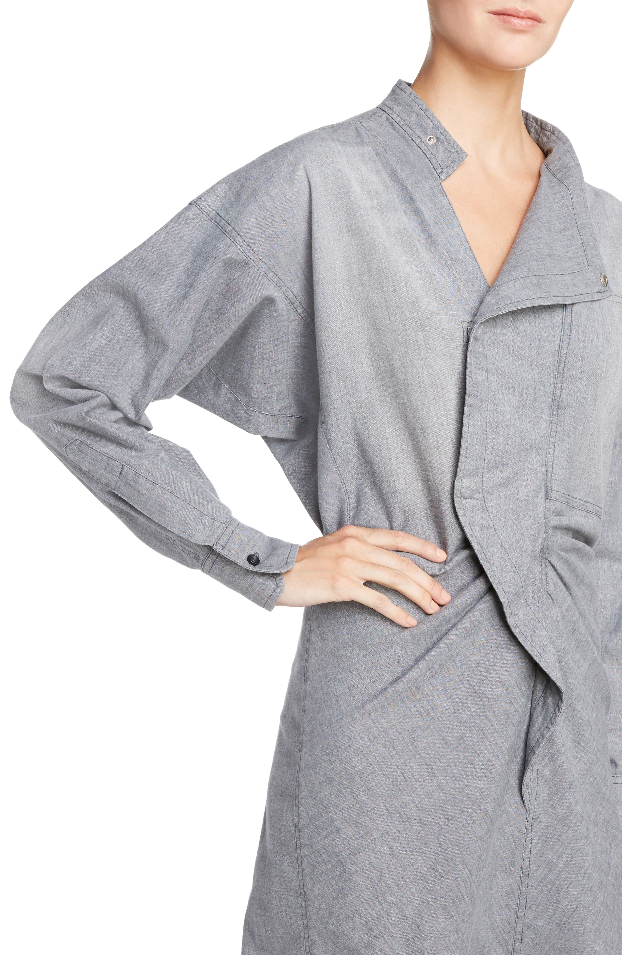 Alternate Image 4  - Isabel Marant Étoile Lindsey Chambray Dress