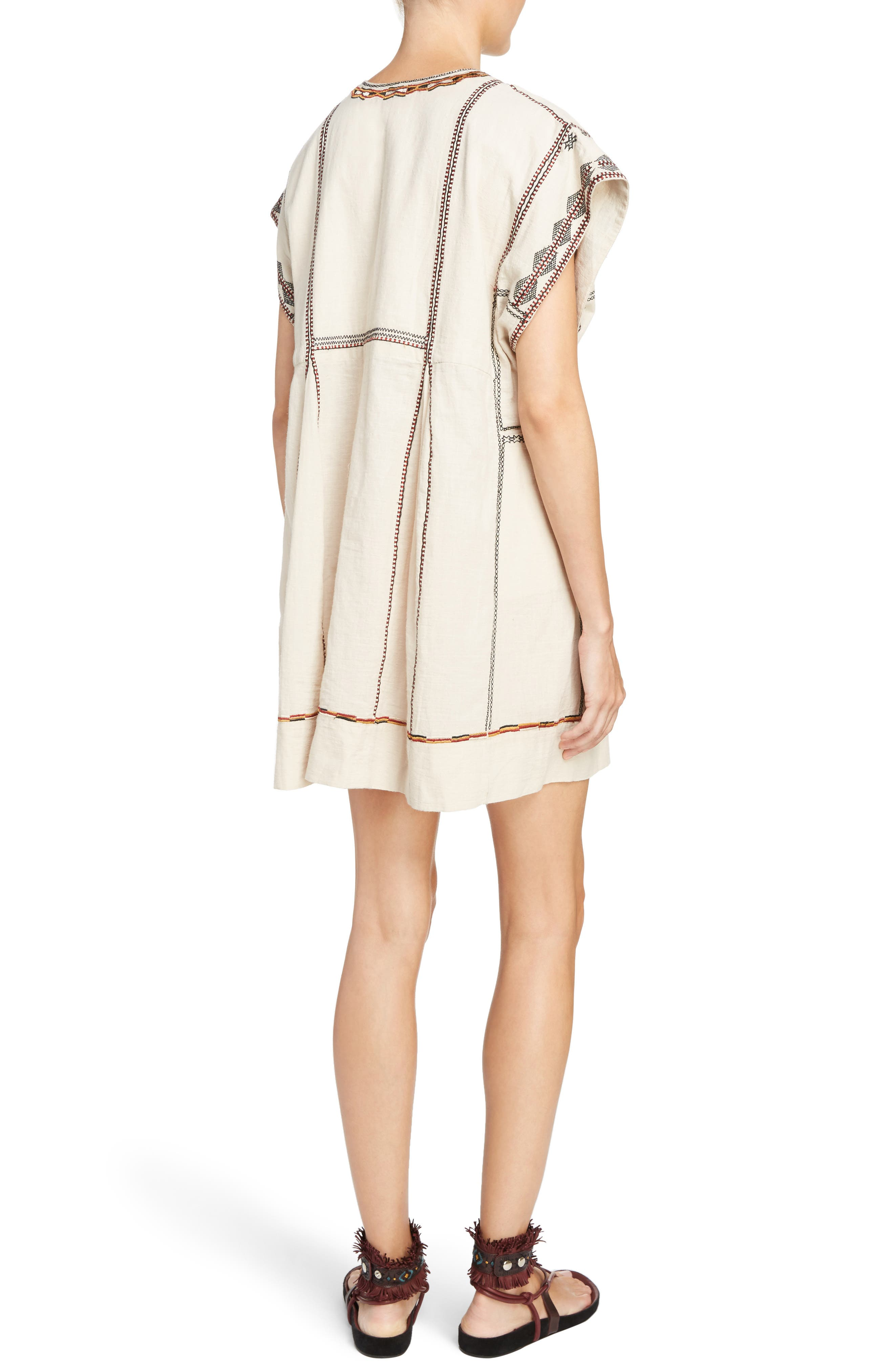 Alternate Image 2  - Isabel Marant Étoile Belissa Embroidered Shift Dress