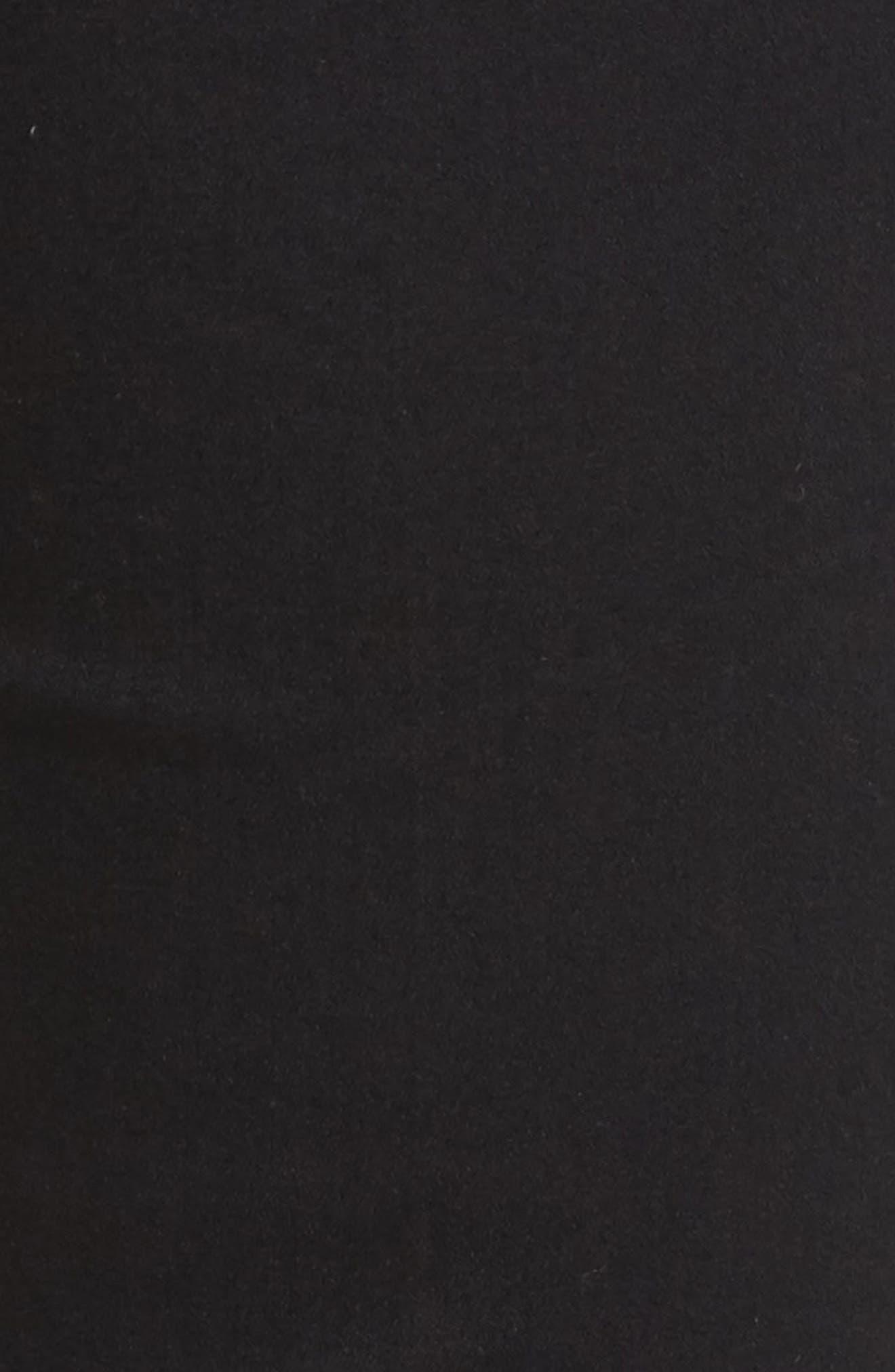 Ab-solution Upstart Kick Flare Jeans,                             Alternate thumbnail 5, color,                             Black