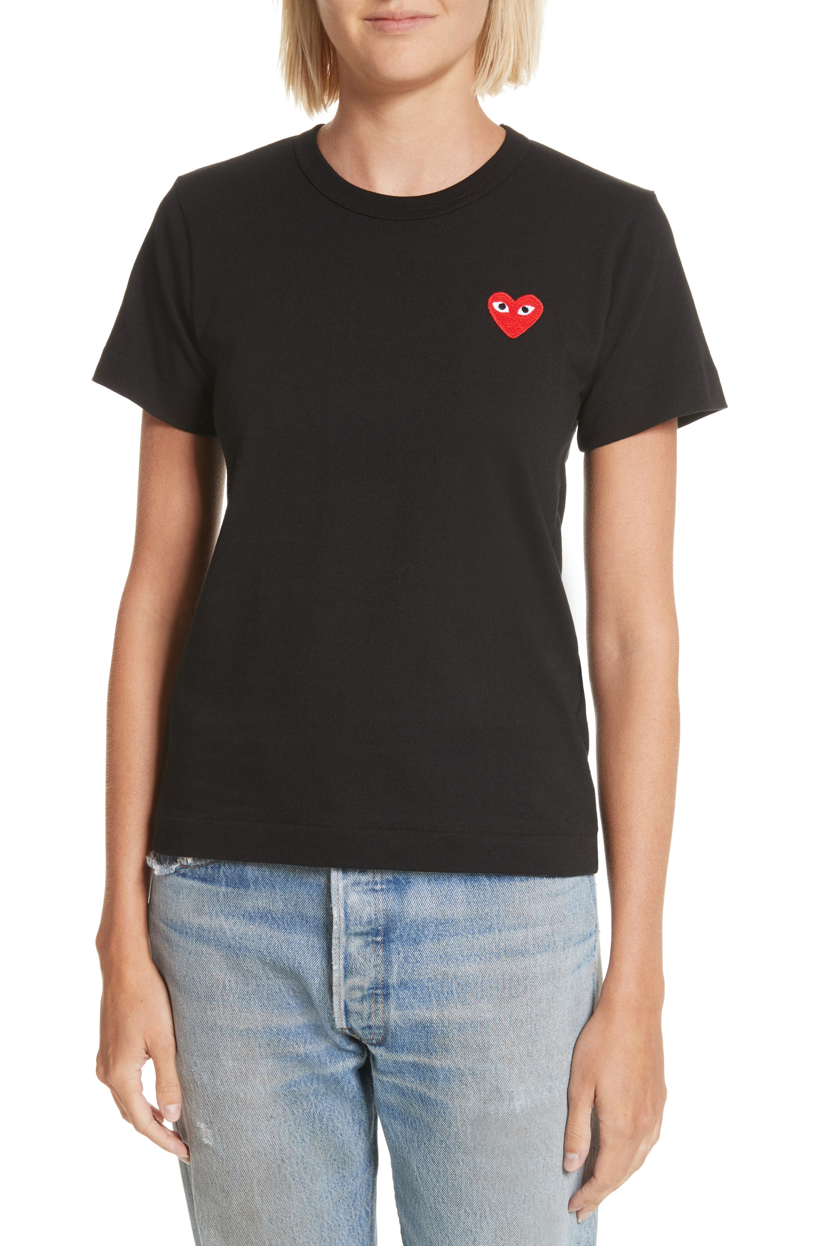 Alternate Image 1 Selected - Comme des Garçons PLAY Heart Tee