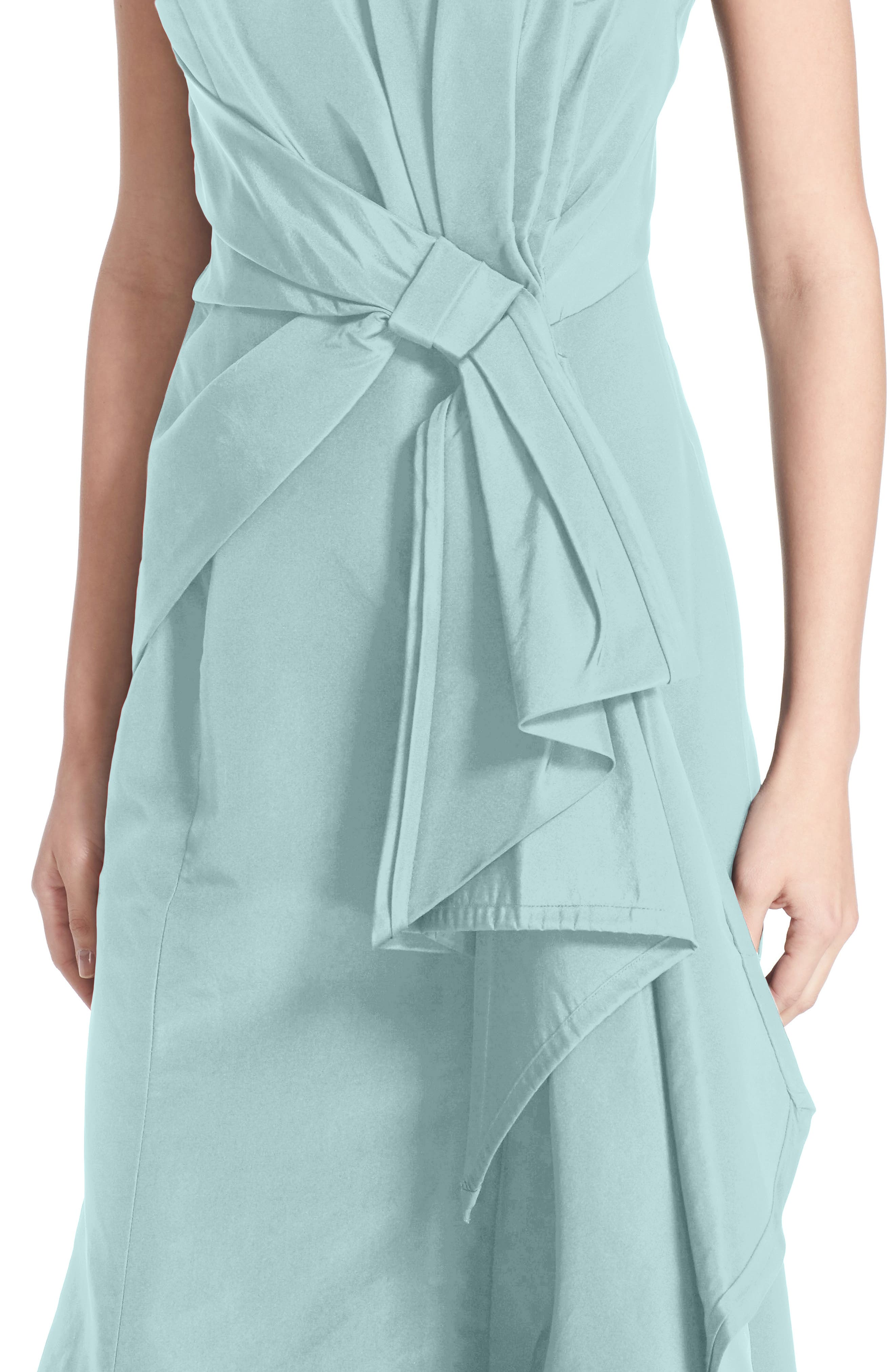Alternate Image 4  - Carolina Herrera Bow Detail Strapless Silk Faille Gown