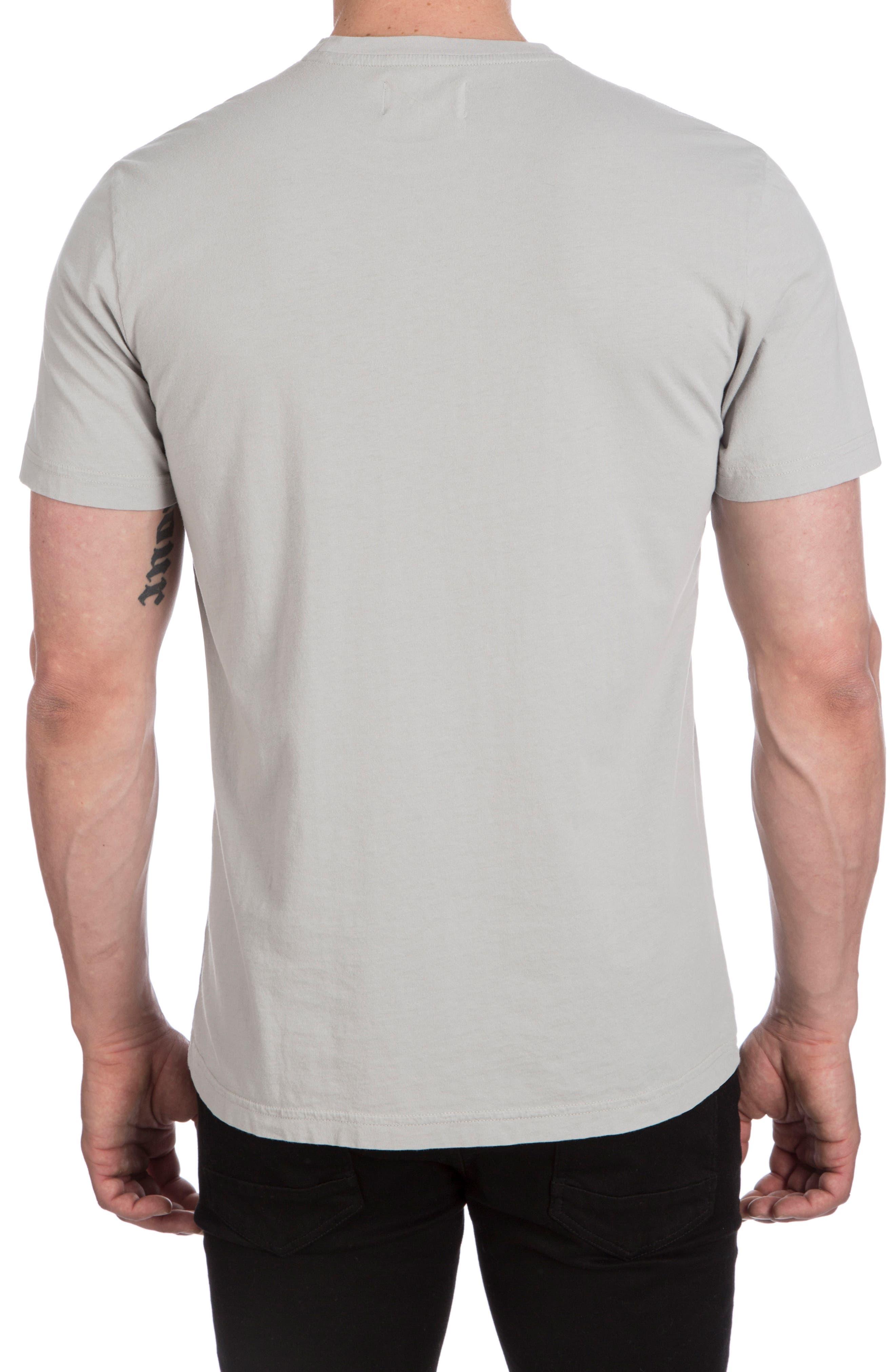 Langford Garment Dye T-Shirt,                             Alternate thumbnail 3, color,                             Alloy