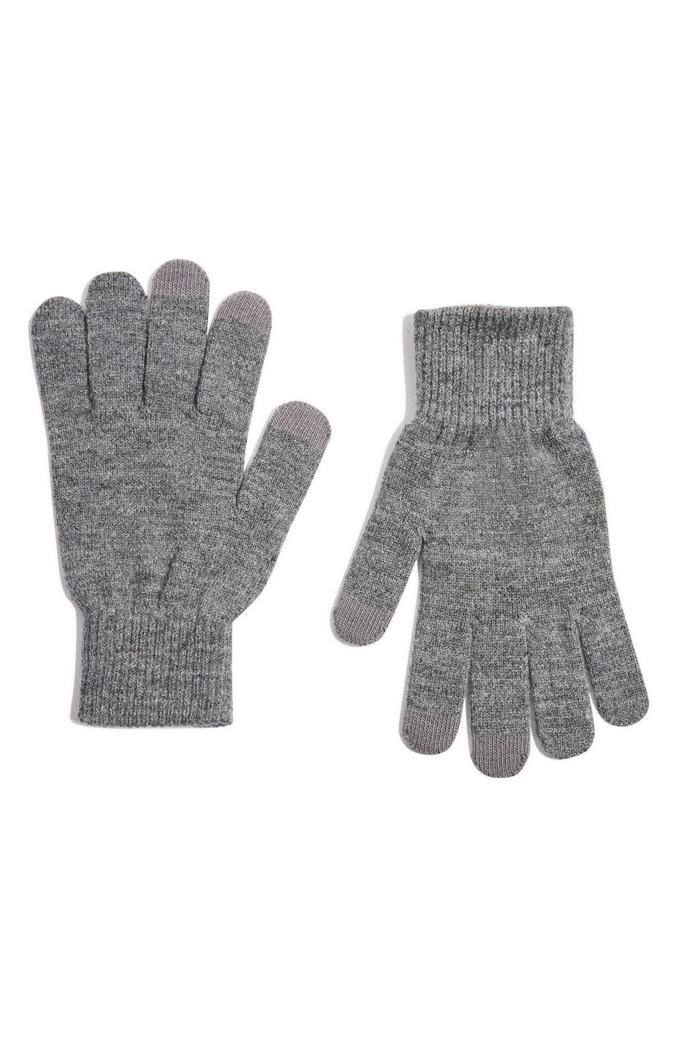 Alternate Image 1 Selected - Topshop Core Winter Tech Gloves