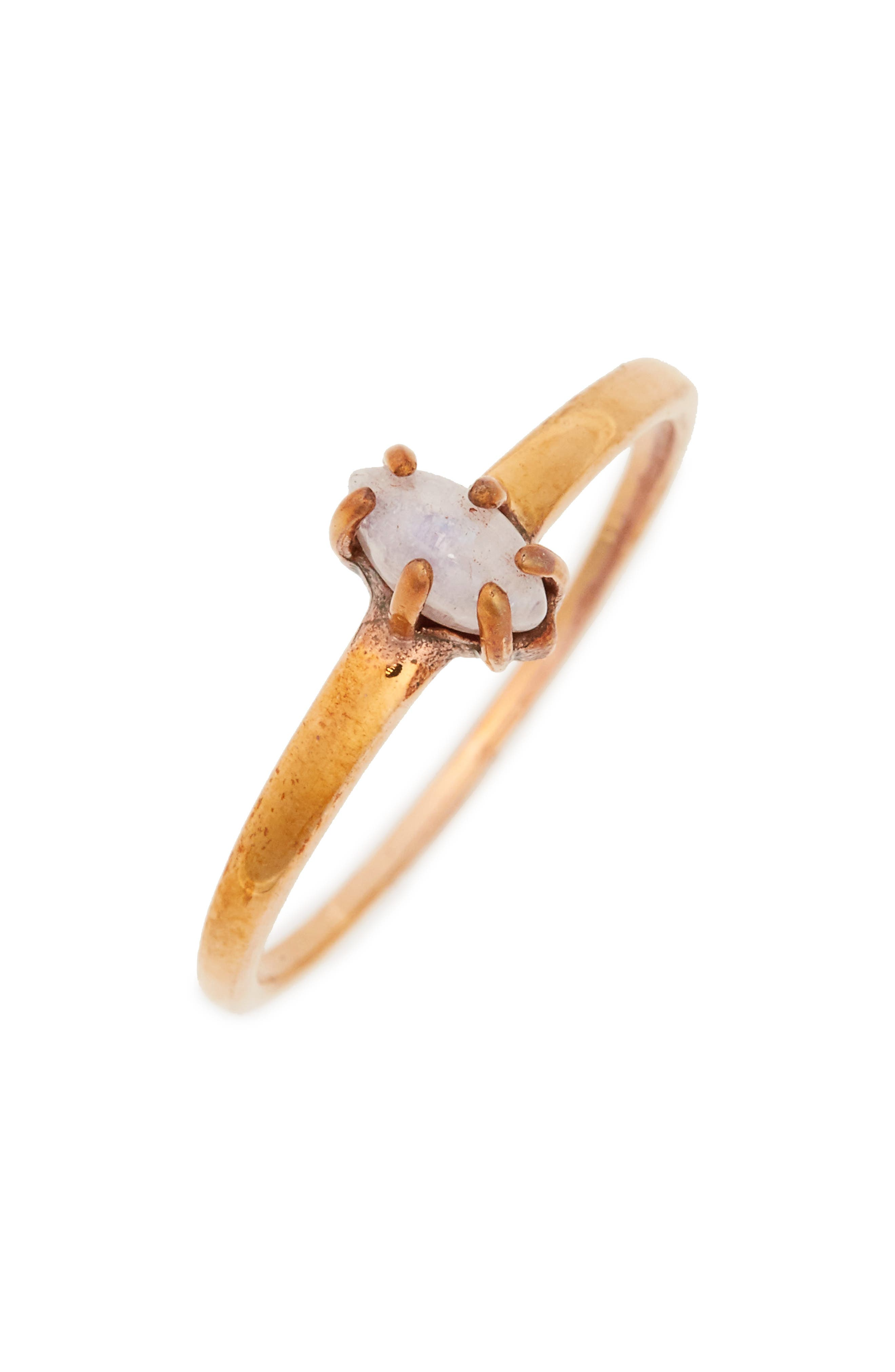 Main Image - Madewell Marquise Moonstone Ring