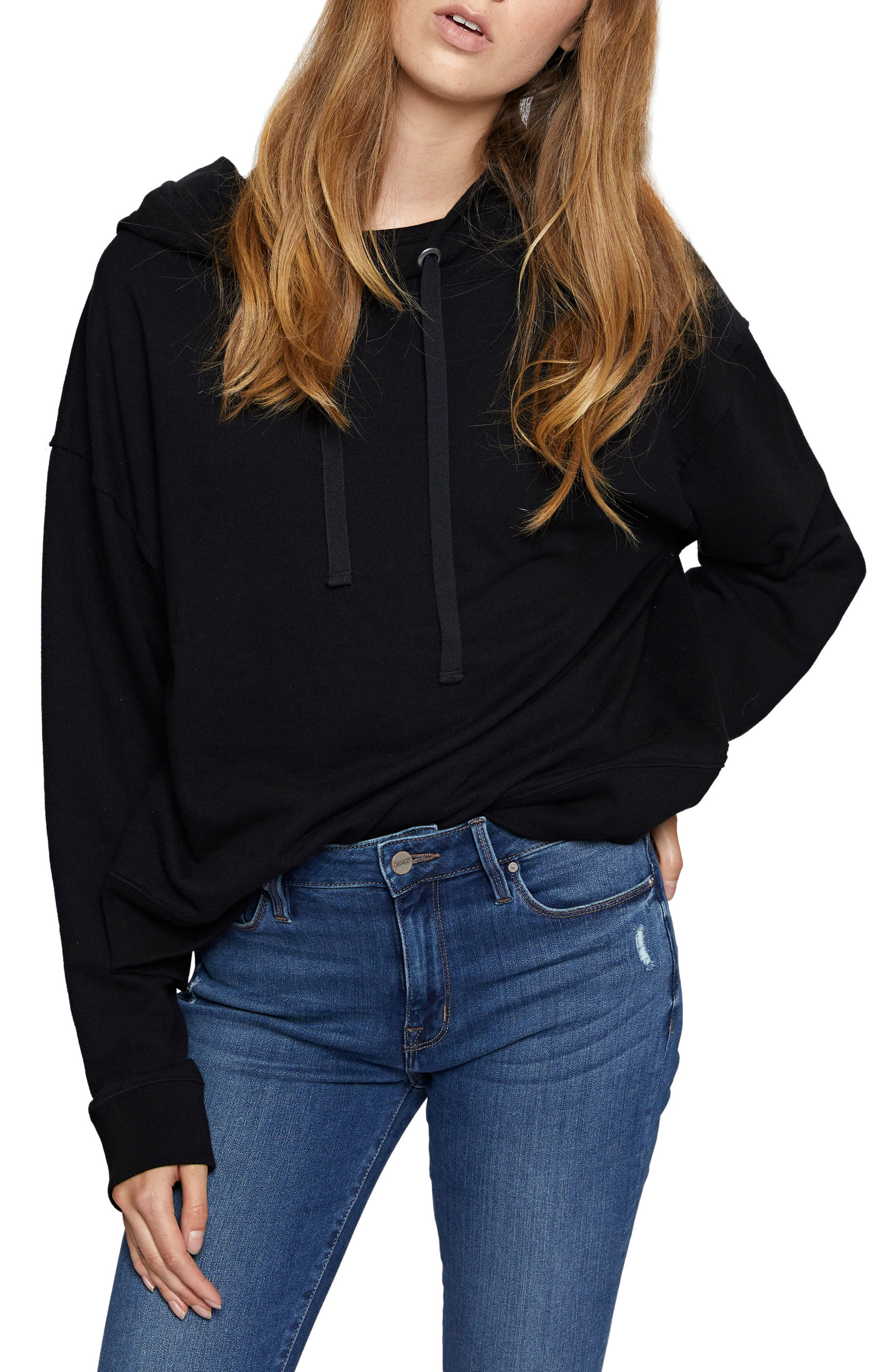 Sanctuary Venice Hooded Sweatshirt (Regular & Petite)