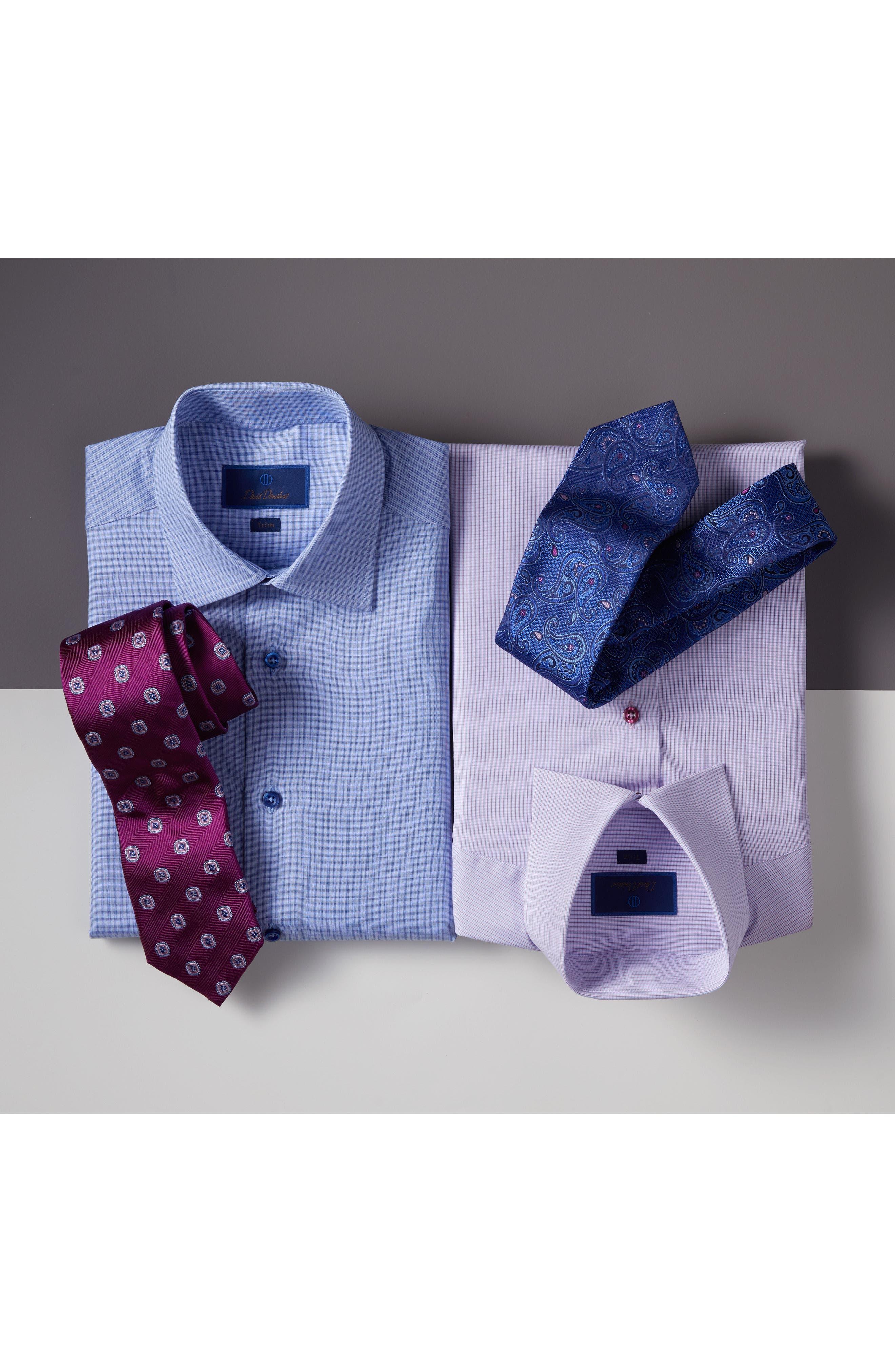 Medallion Silk Tie,                             Alternate thumbnail 3, color,