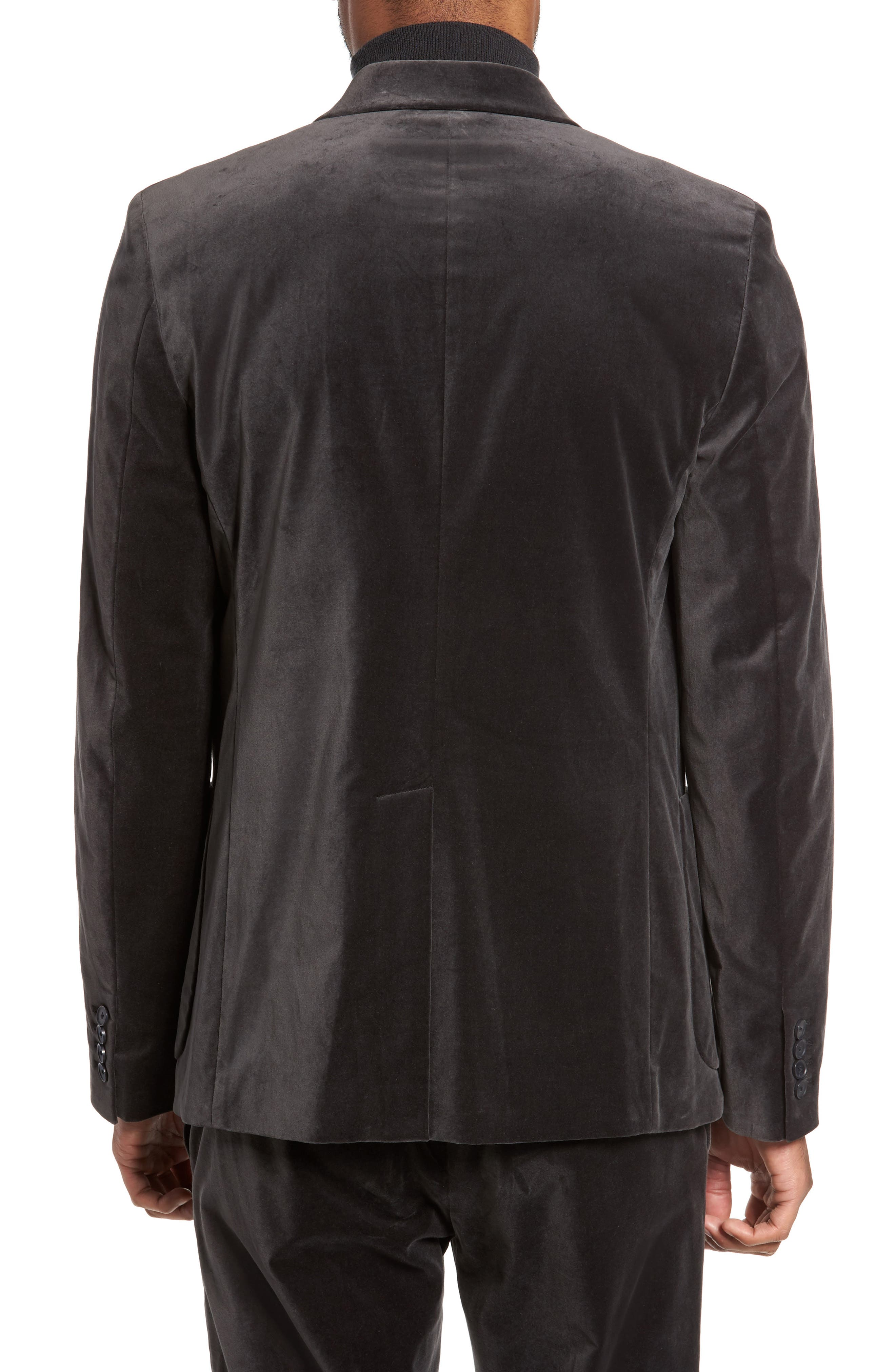 Alternate Image 2  - Vince Velvet Patch Pocket Blazer