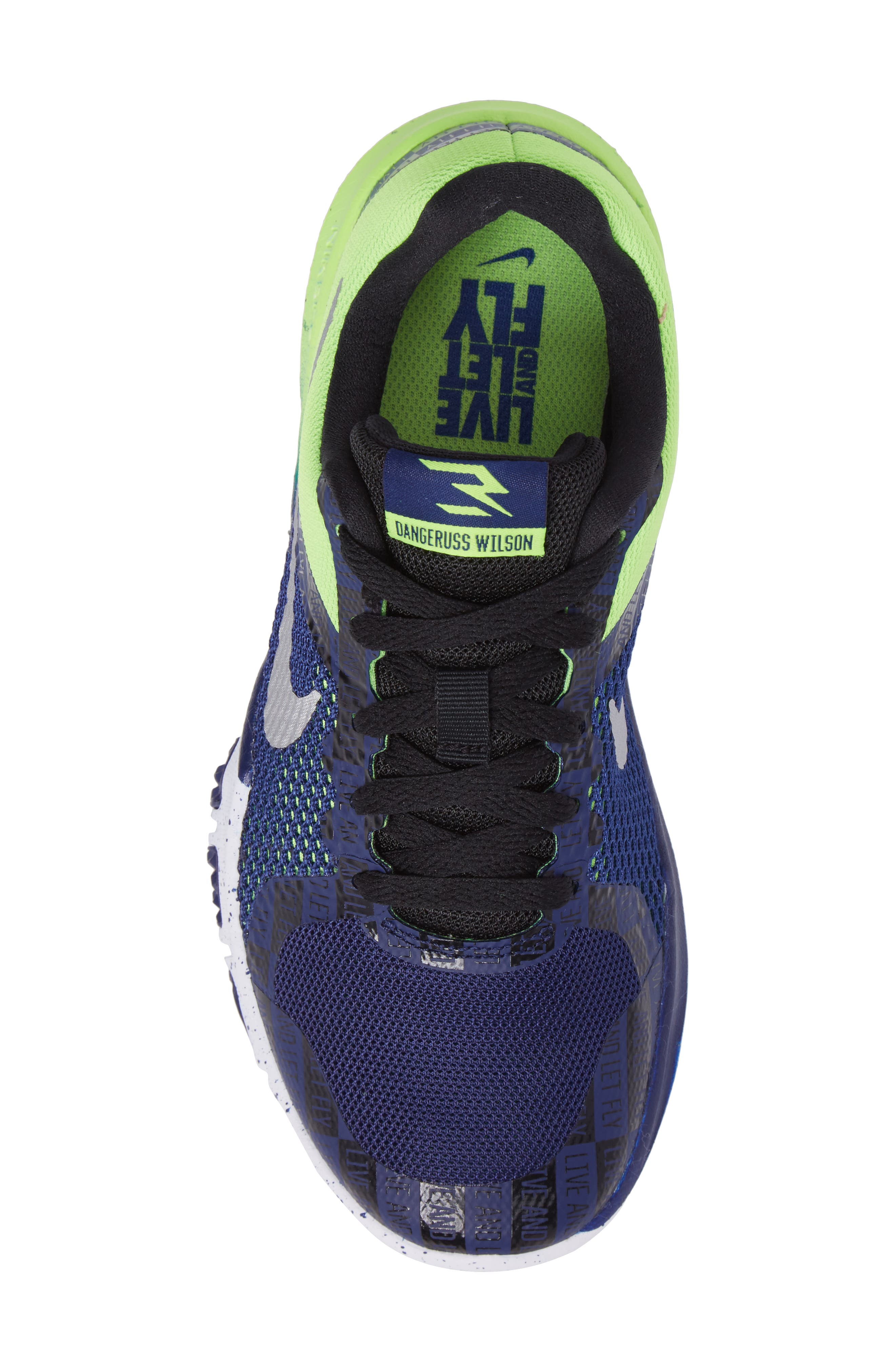 Alternate Image 5  - Nike Flex TR Control Training Shoe (Toddler, Little Kid & Big Kid)