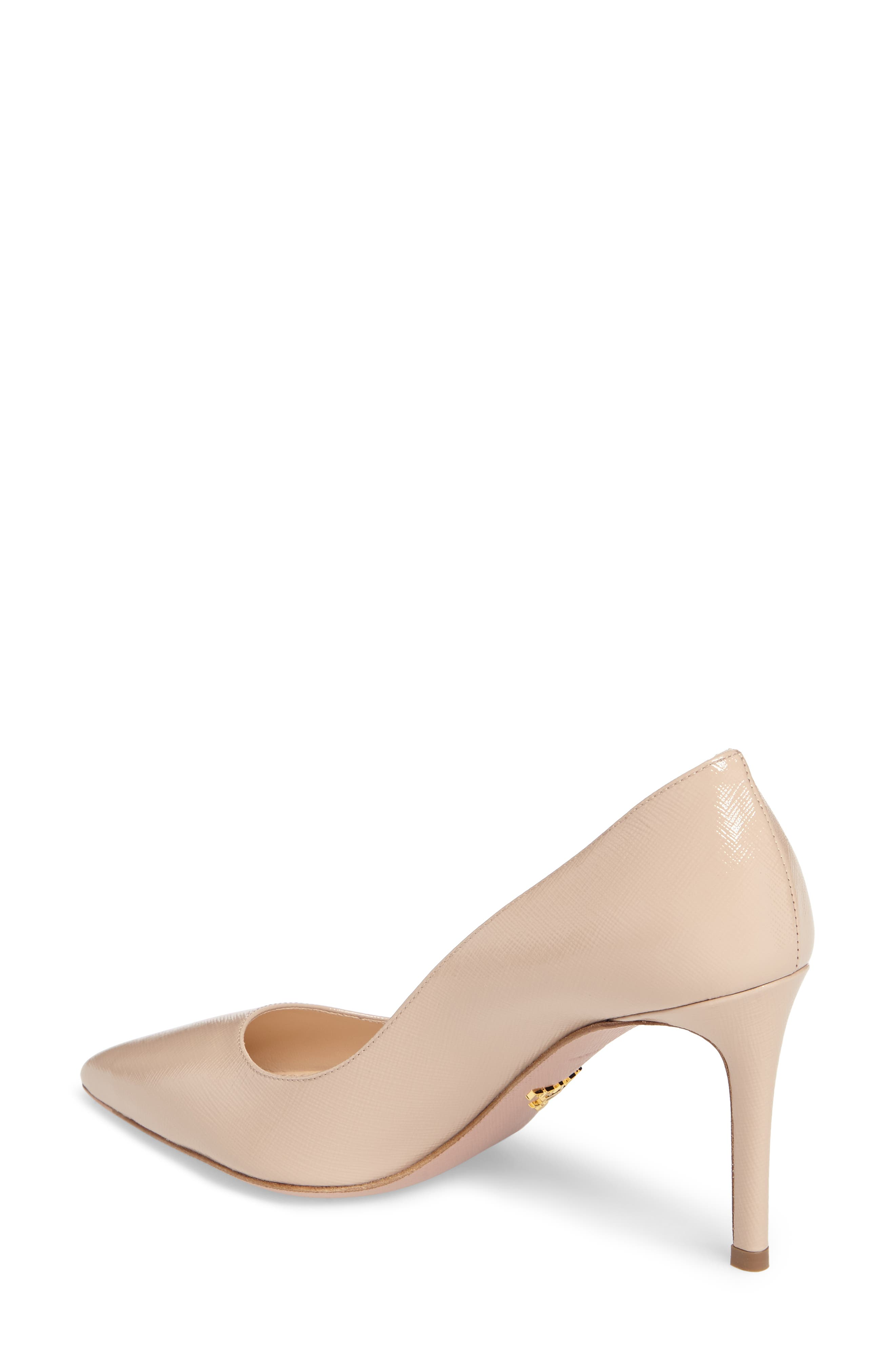 Pointy Toe Pump,                             Alternate thumbnail 2, color,                             Cipria