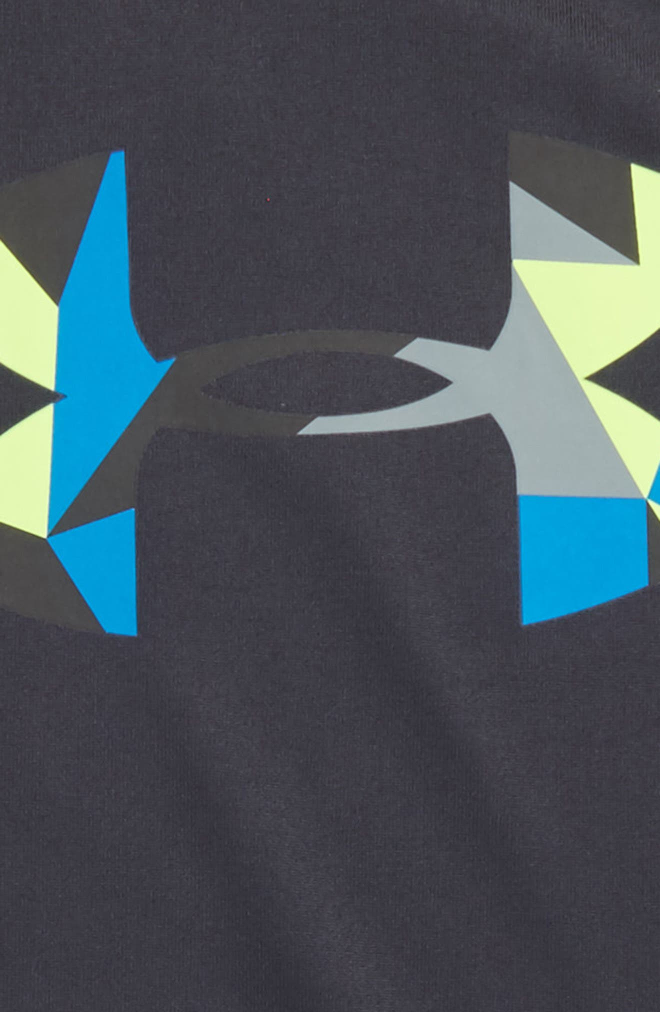 Geo Cache Graphic HeatGear<sup>®</sup> T-Shirt,                             Alternate thumbnail 2, color,                             Anthracite