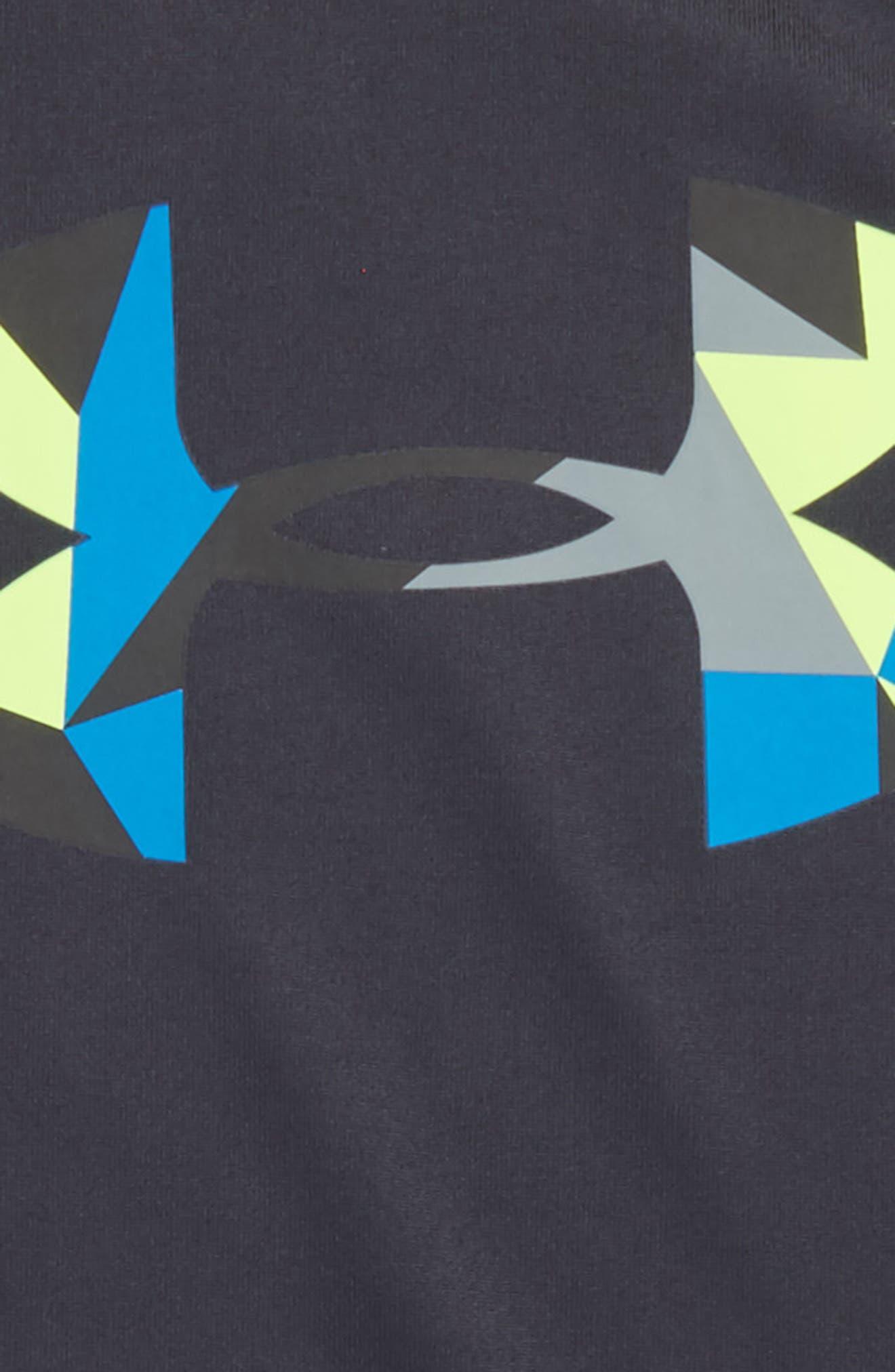 Alternate Image 2  - Under Armour Geo Cache Graphic HeatGear® T-Shirt (Toddler Boys & Little Boys)