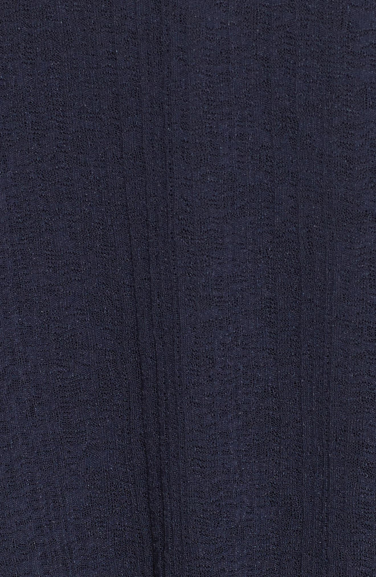Knit Raglan Dress,                             Alternate thumbnail 5, color,                             Ultramarine