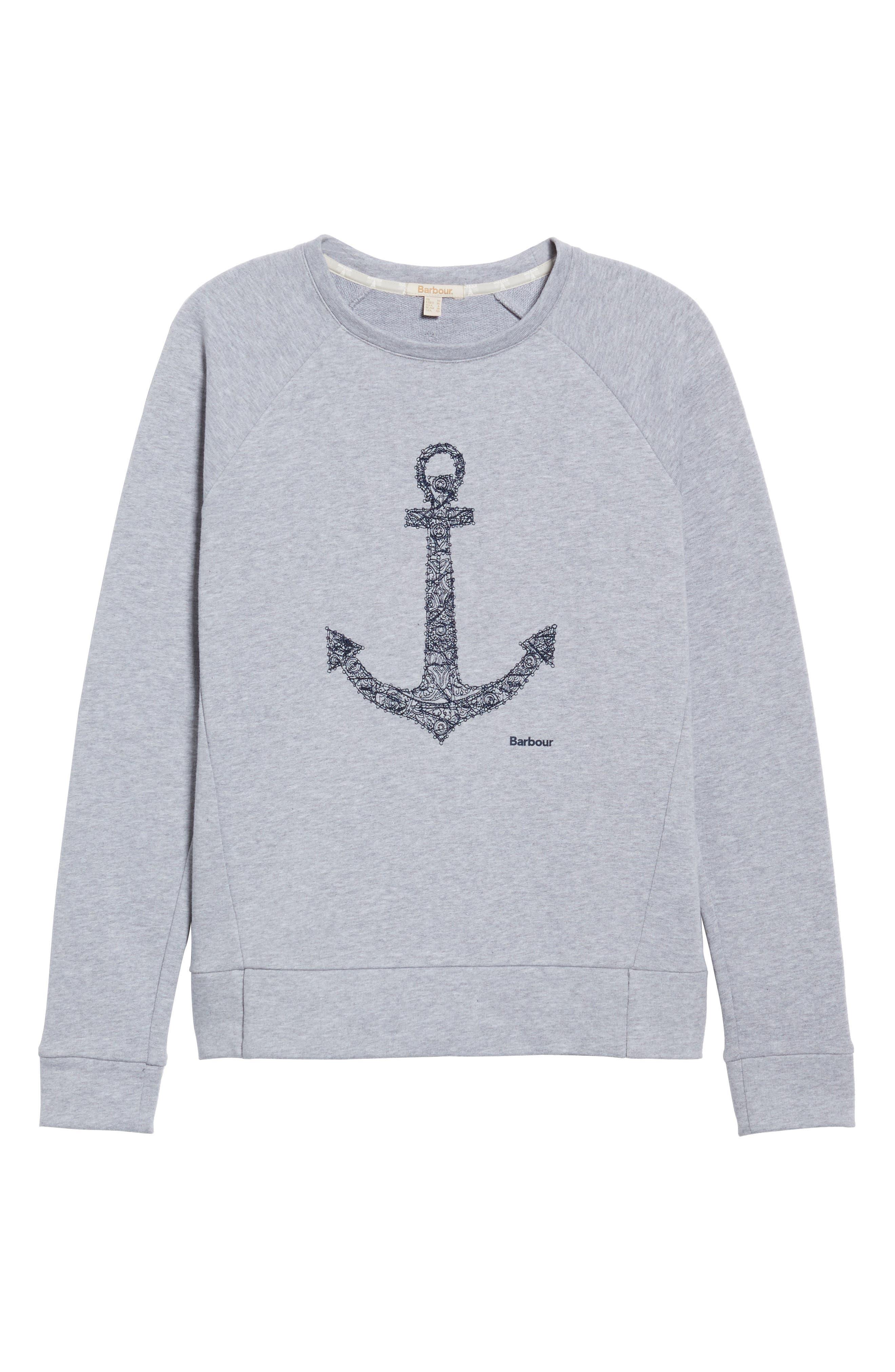 Wester Sweatshirt,                             Alternate thumbnail 6, color,                             Light Grey
