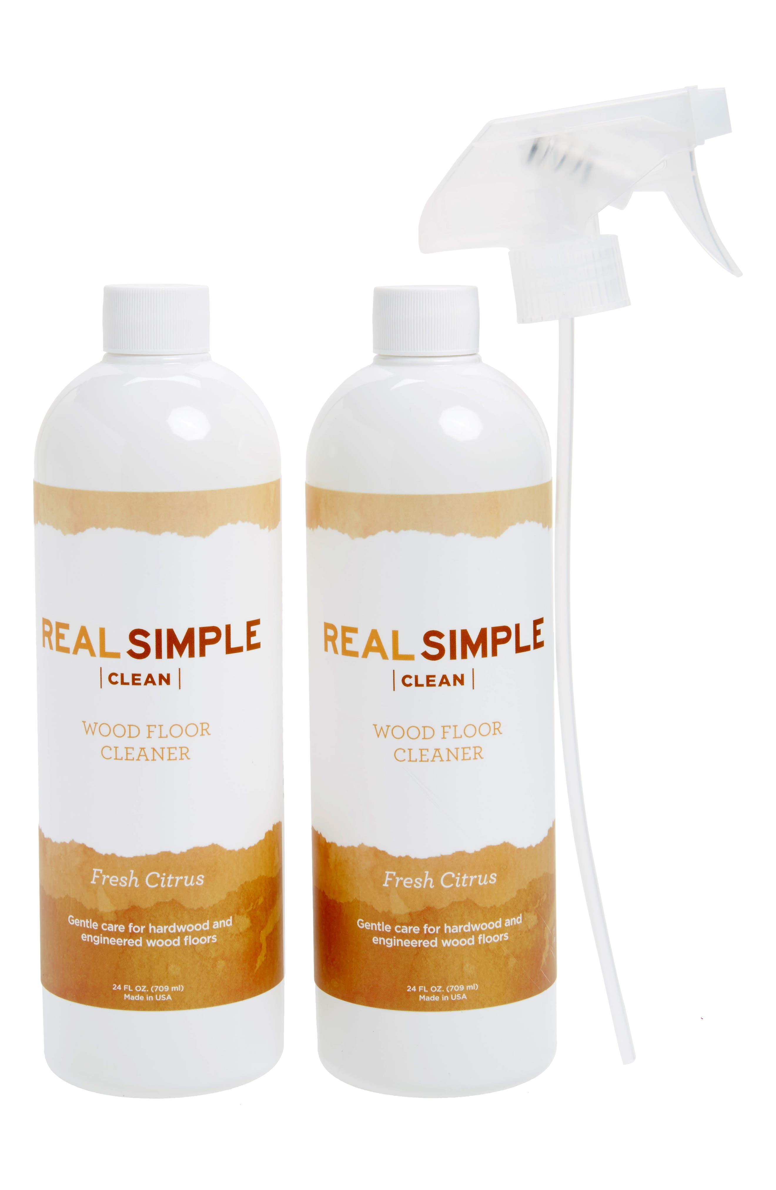 Alternate Image 1 Selected - Real Simple 2-Pack Wood Floor Cleaner