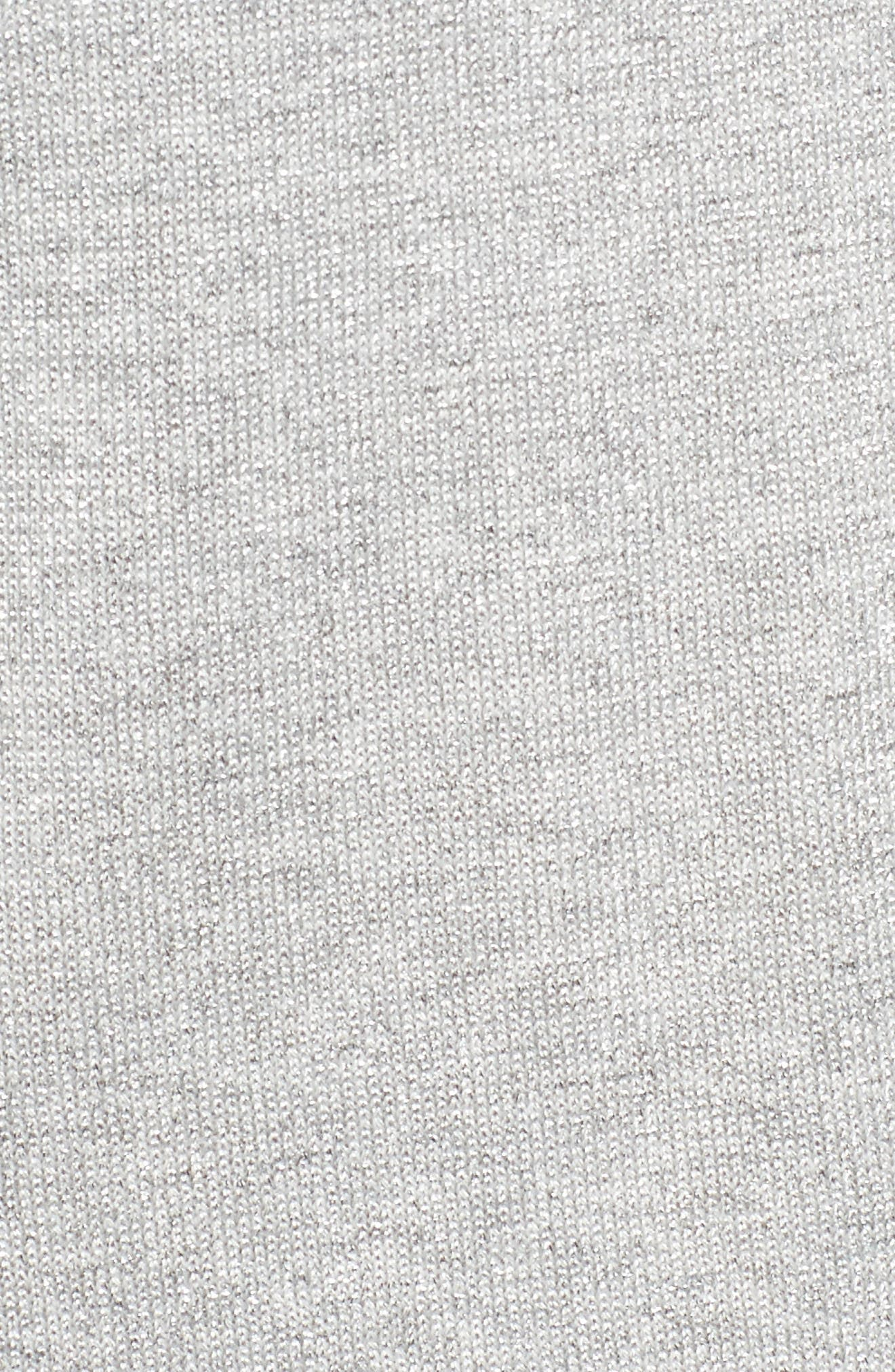 Alternate Image 5  - Chaus Metallic Cold Shoulder Cowl Neck Sweater