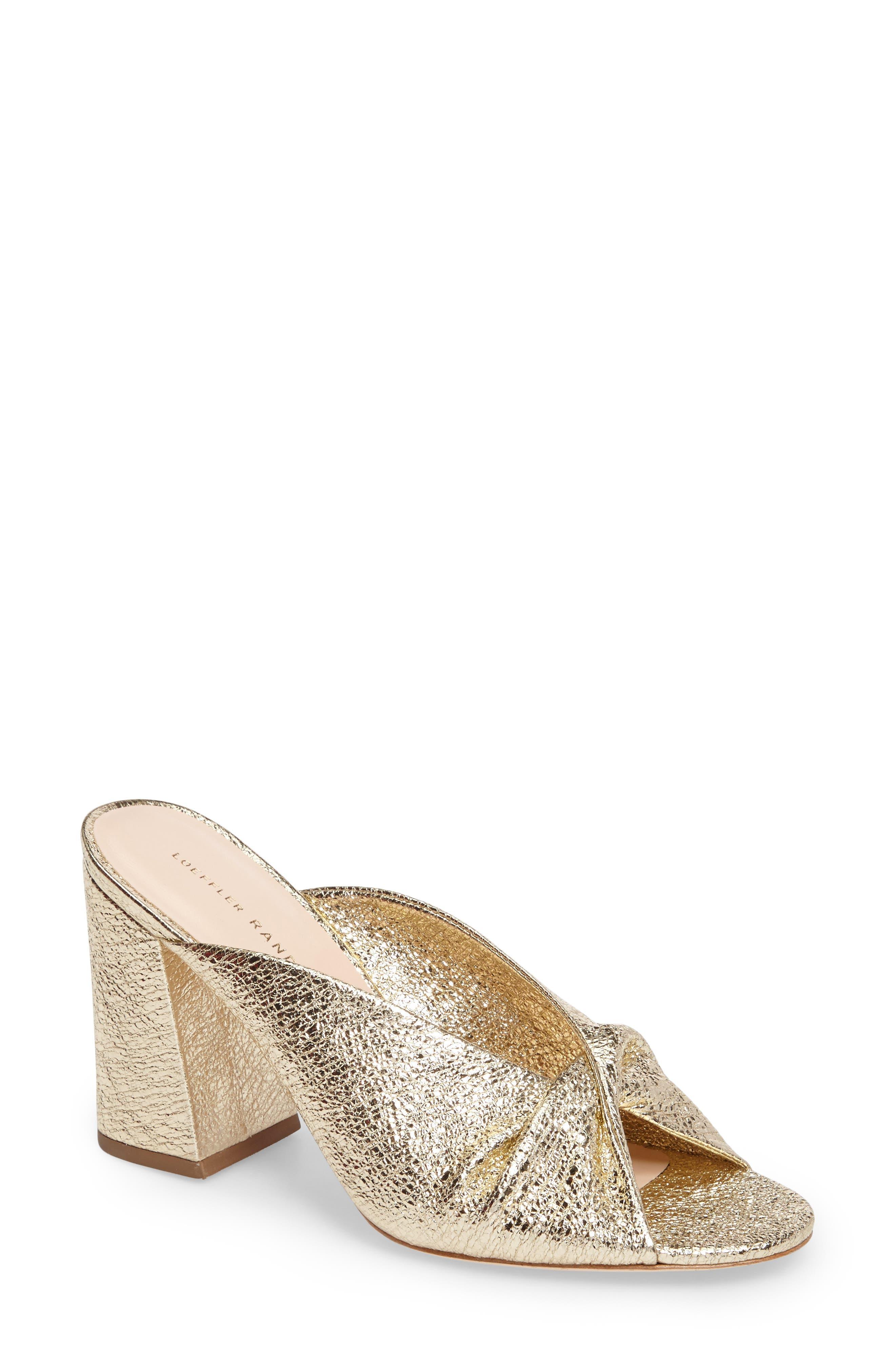Laurel Slide Sandal,                         Main,                         color, Champagne
