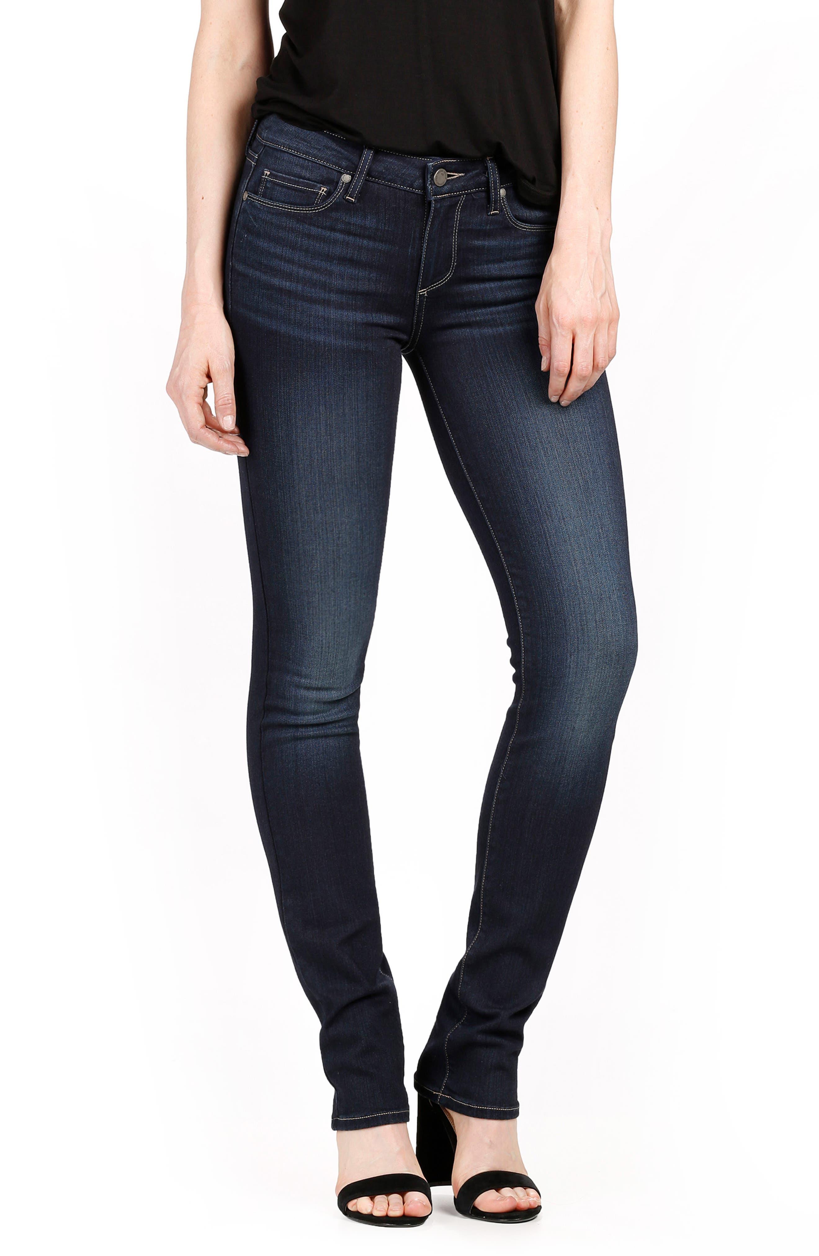 Alternate Image 1 Selected - PAIGE Skyline Straight Jeans (Gardena)