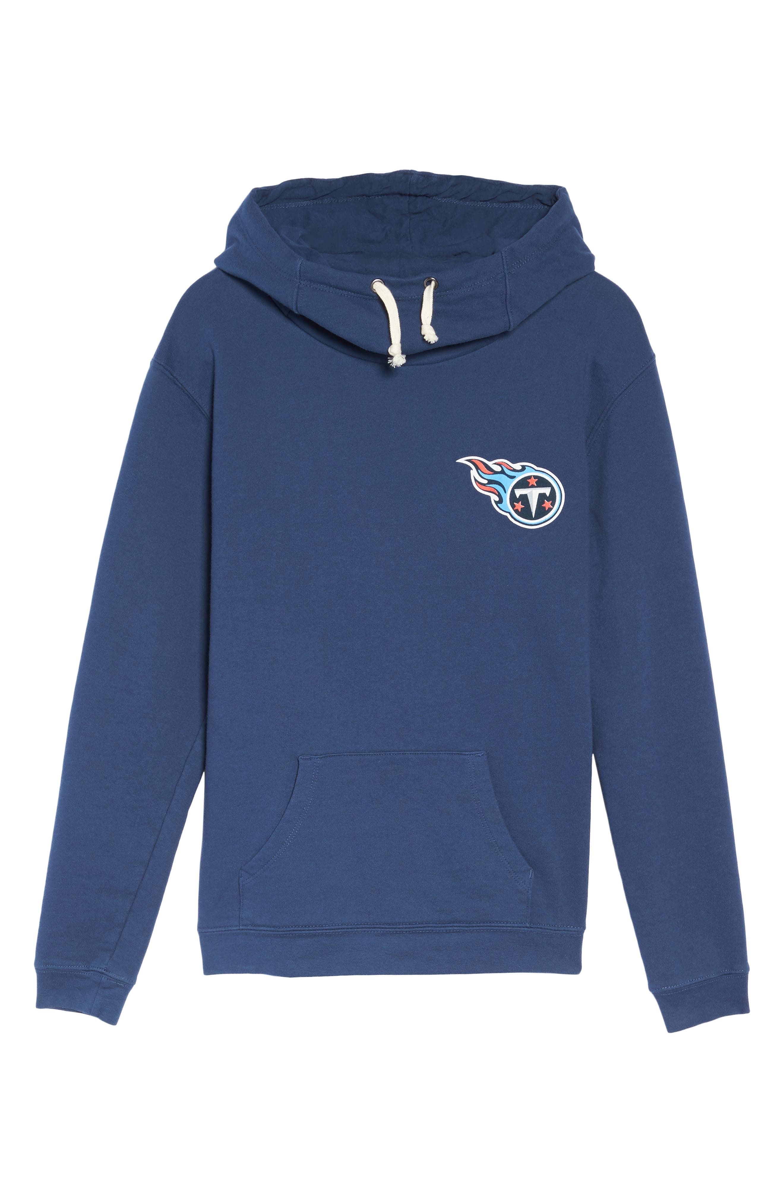 NFL Tennessee Titans Sunday Hoodie,                             Alternate thumbnail 4, color,                             True Navy
