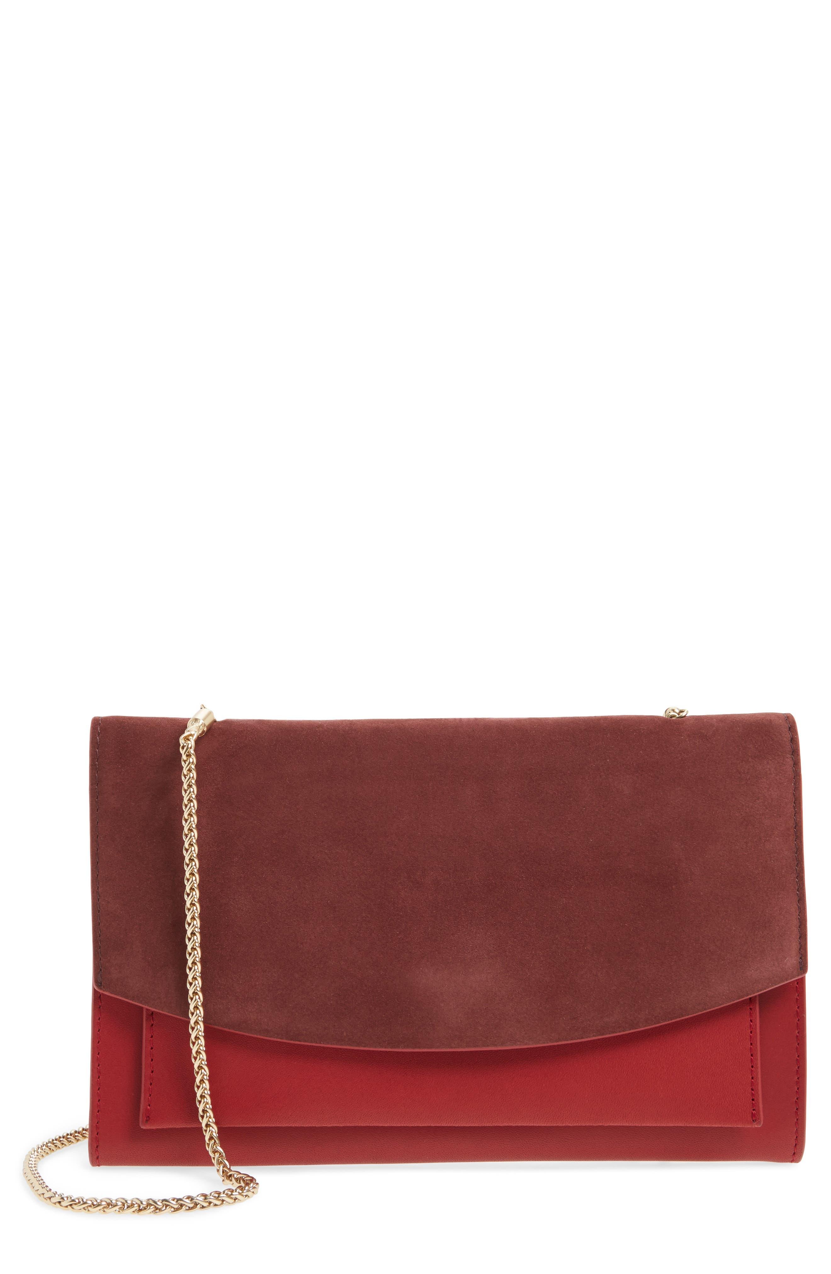 Skagen Eryka Leather Wallet on a Chain