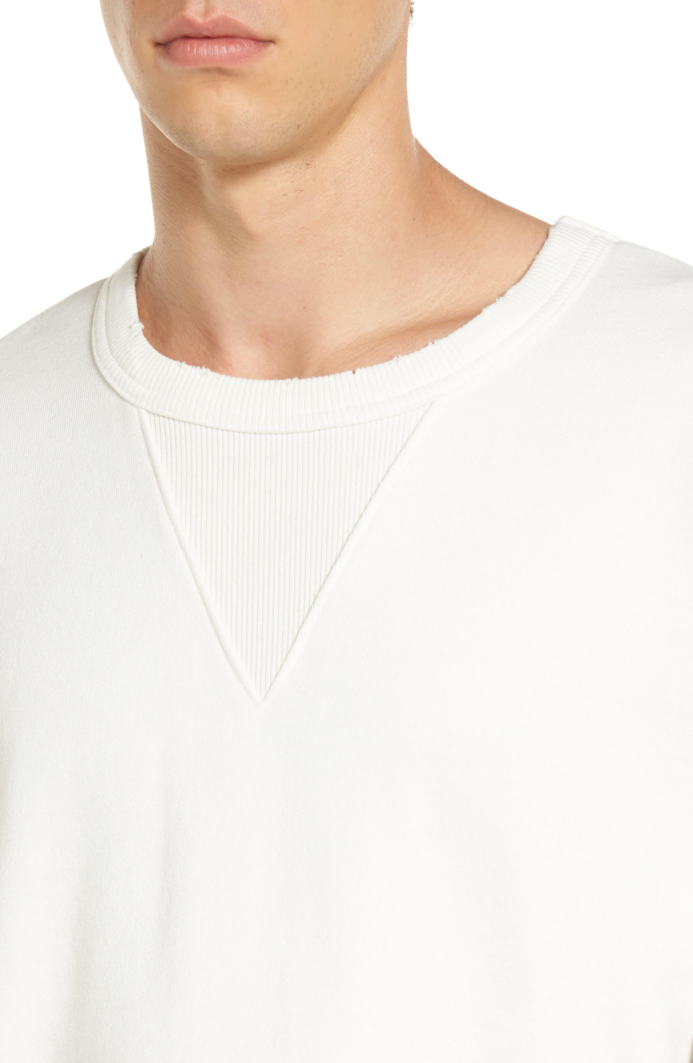 Alternate Image 4  - Treasure & Bond Distressed Sweatshirt