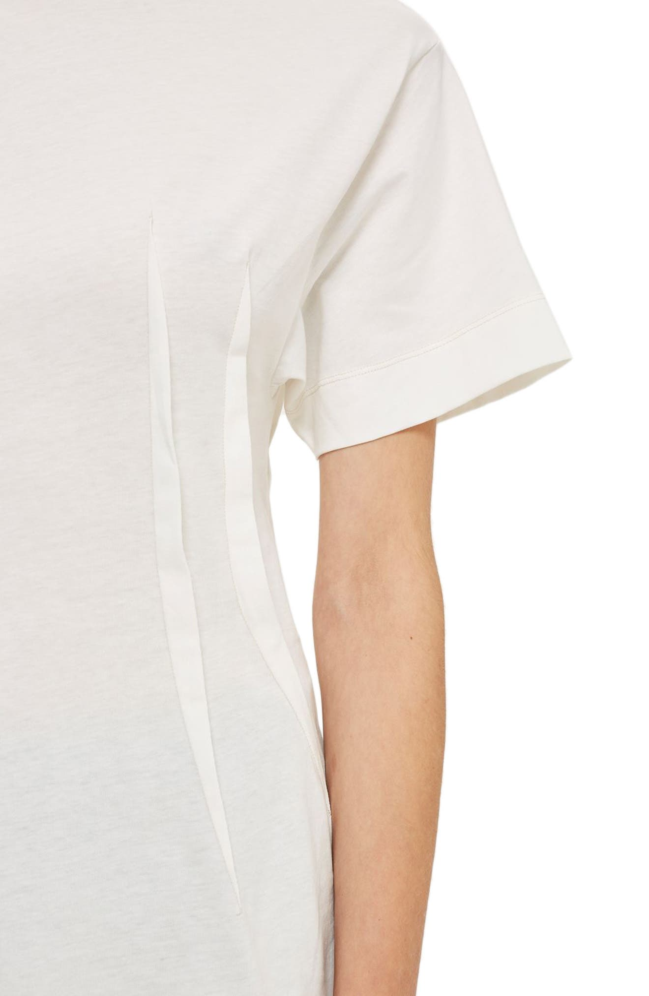 Alternate Image 4  - Topshop Boutique Pintuck Tee