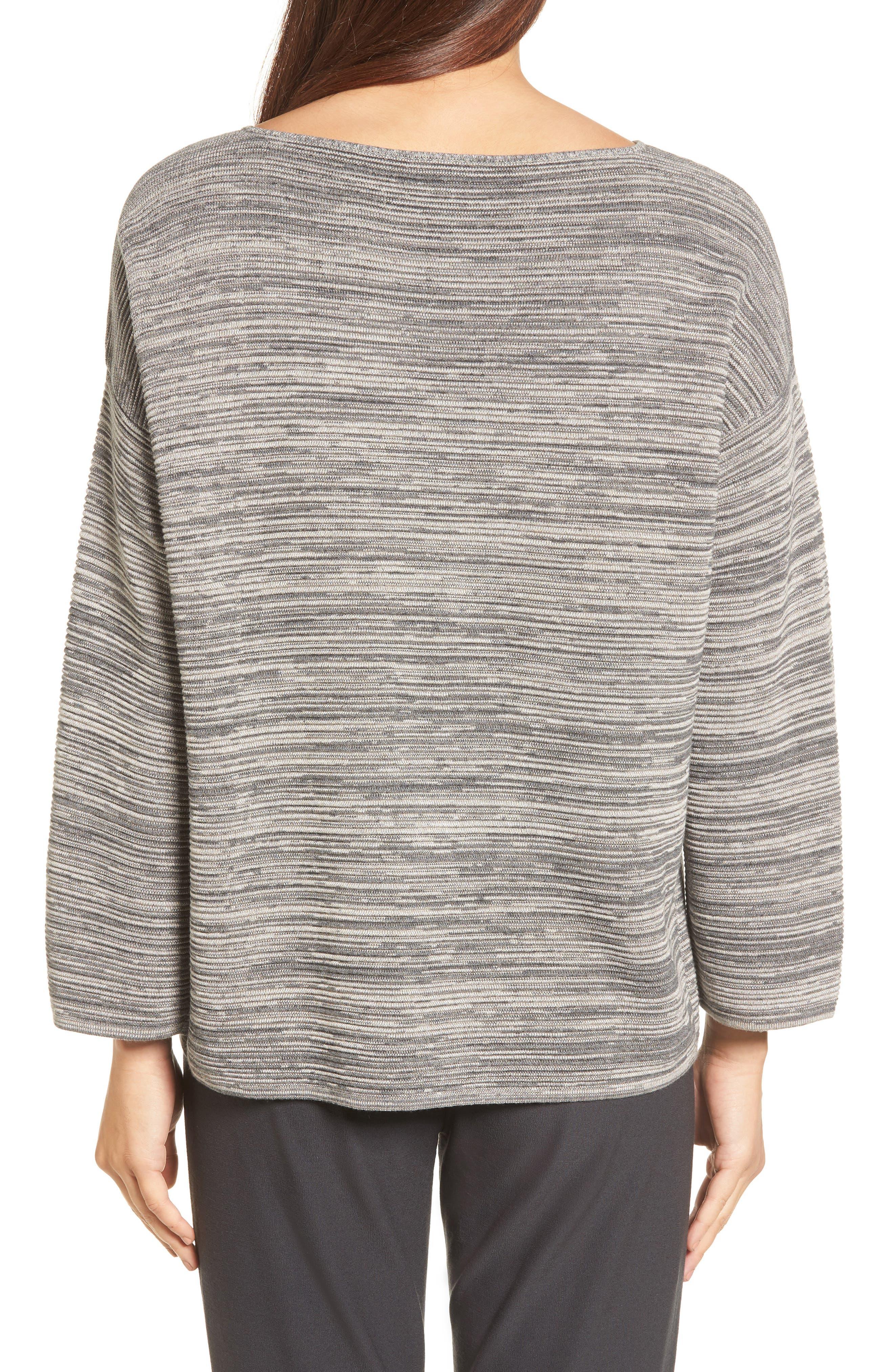 Alternate Image 2  - Eileen Fisher Tencel® & Organic Cotton Sweater