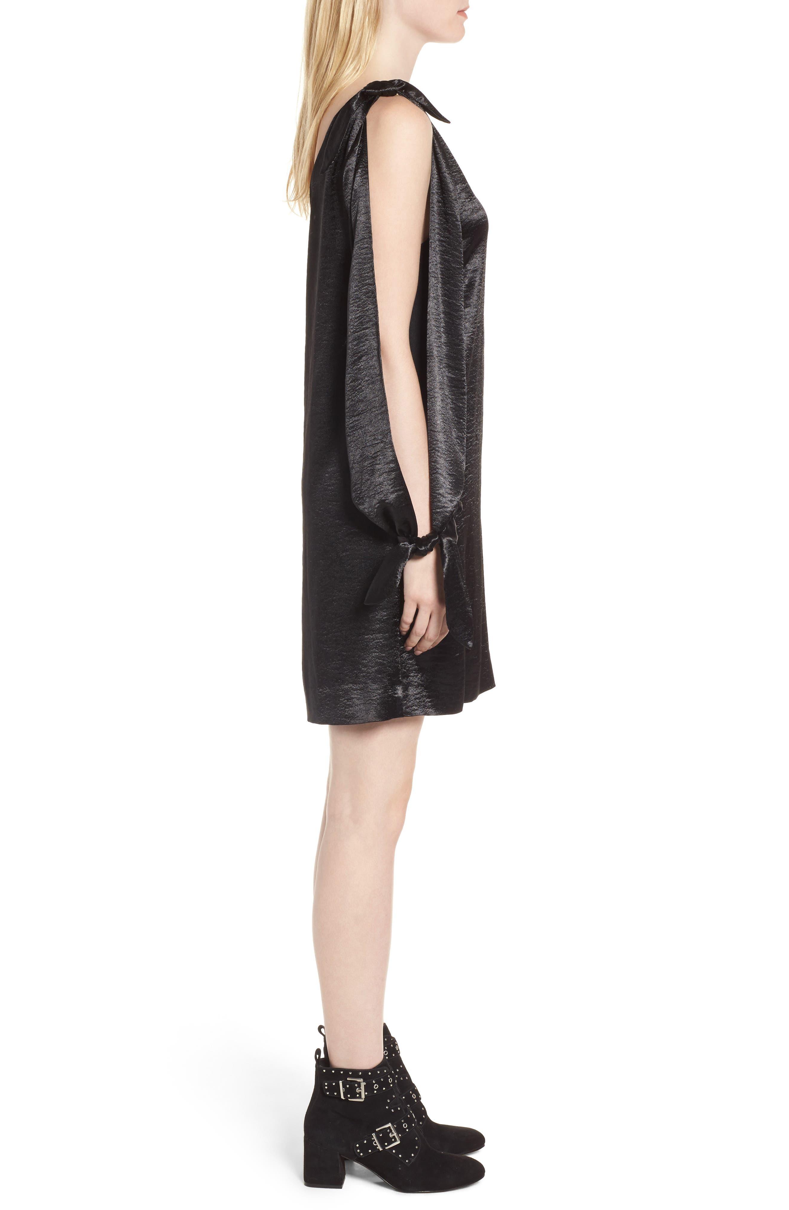 Alternate Image 3  - Rebecca Minkoff Nash One-Shoulder Shift Dress