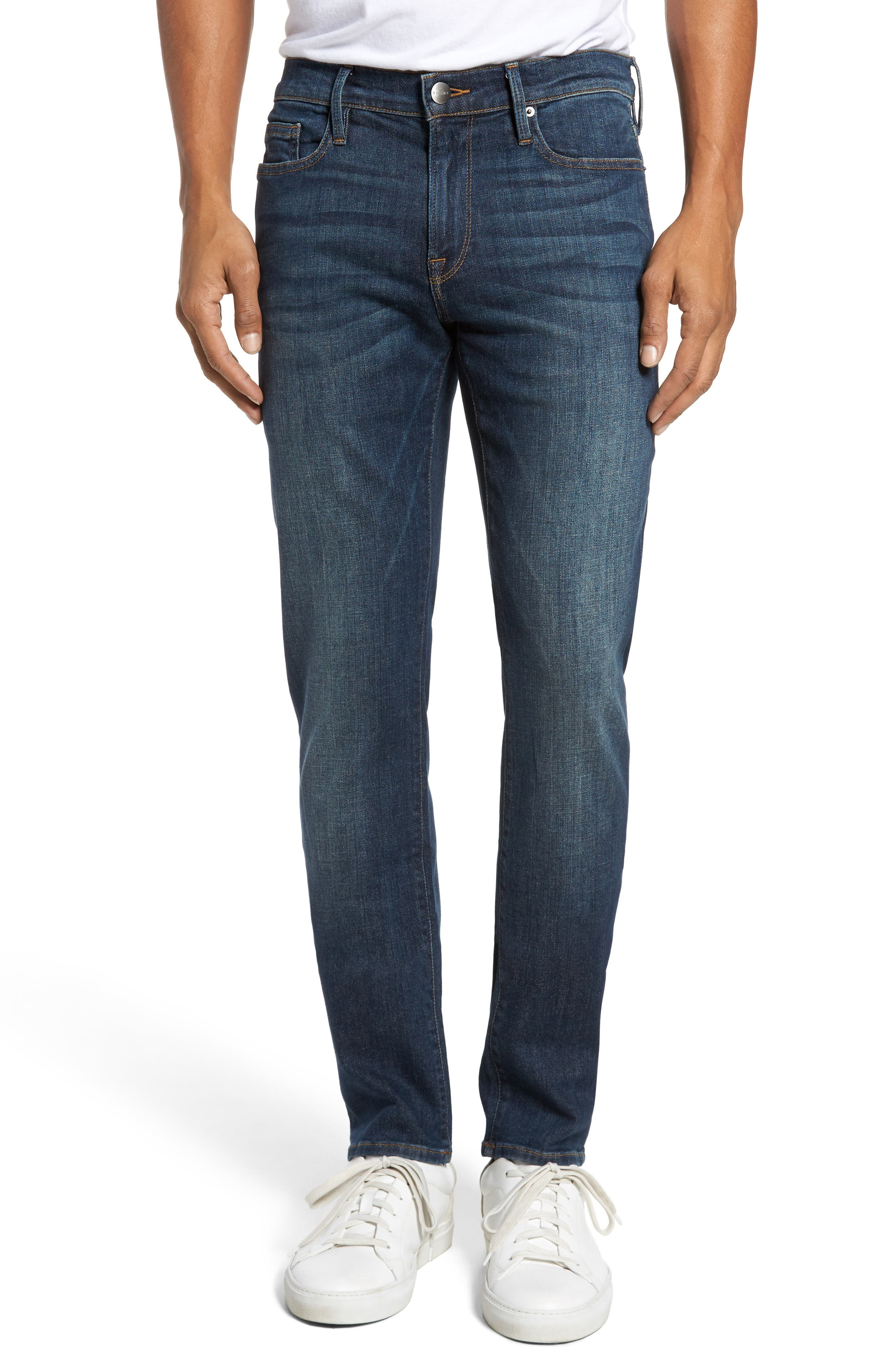 Alternate Image 1 Selected - FRAME L'Homme Slim Fit Jeans (Midway Park)