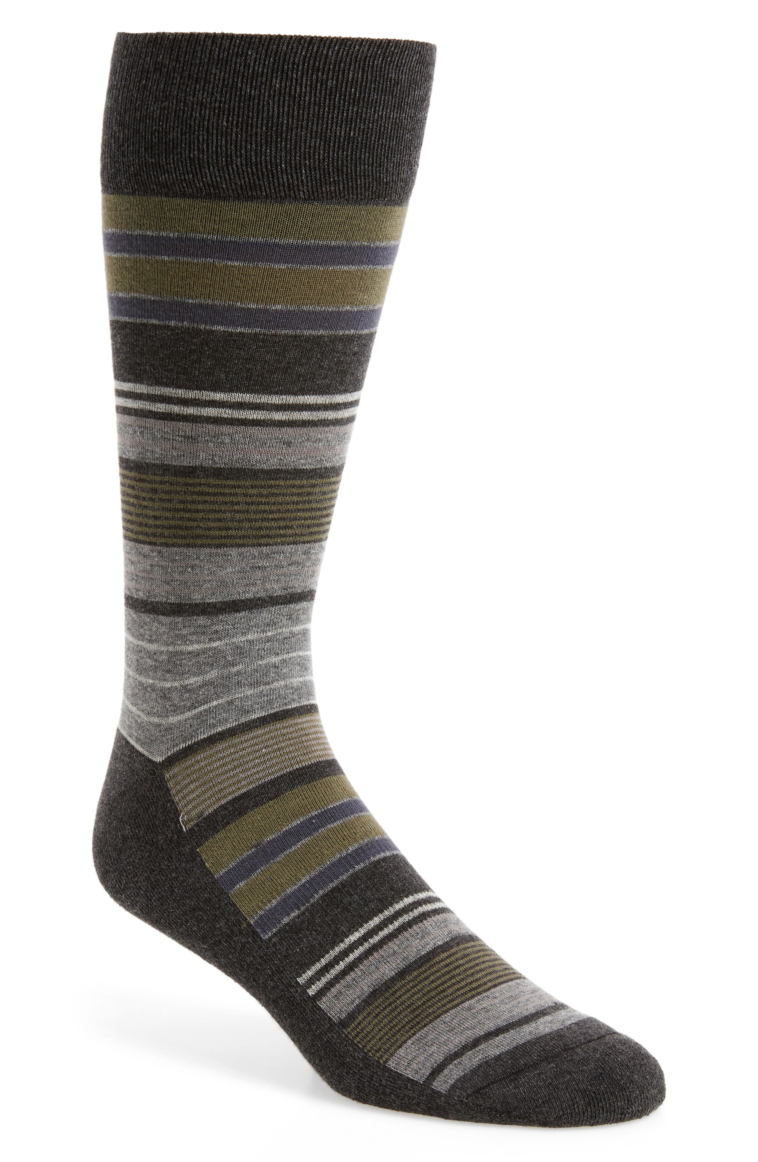 Main Image - Nordstrom Men's Shop Random Stripe Socks (3 for $30)