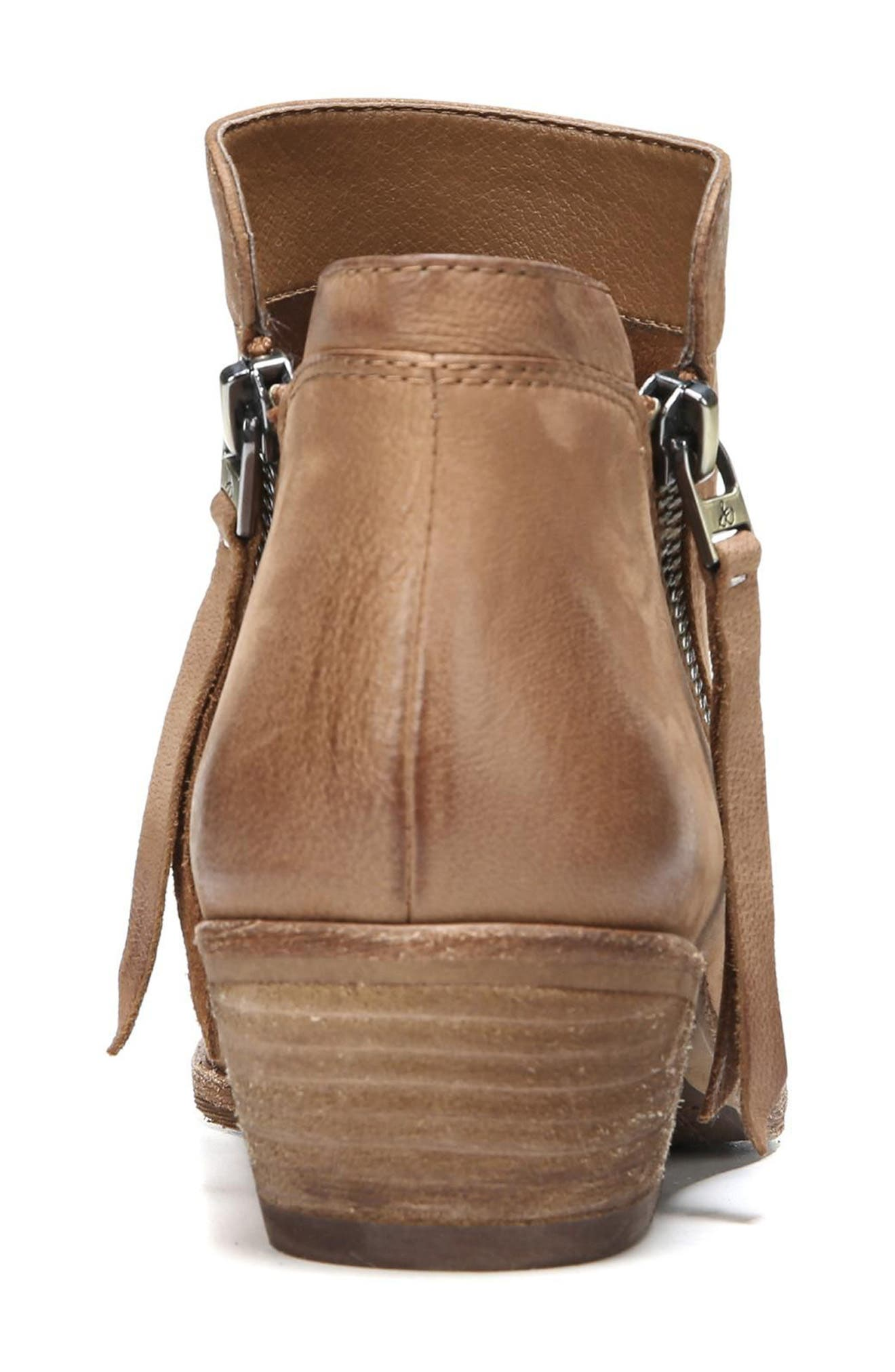 Packer Bootie,                             Alternate thumbnail 6, color,                             Deep Saddle Leather