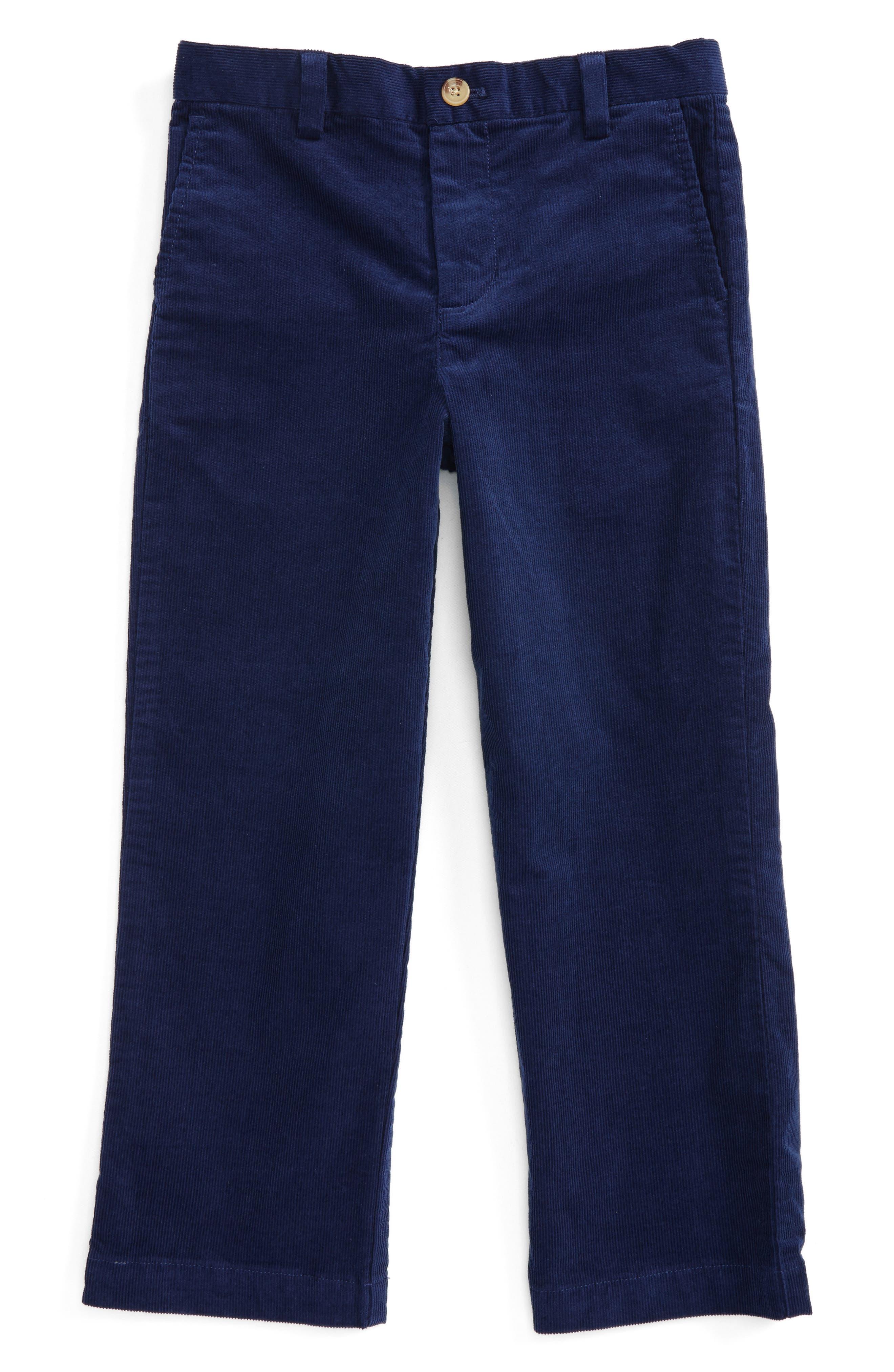 Breaker Corduroy Pants,                             Main thumbnail 1, color,                             Deep Bay