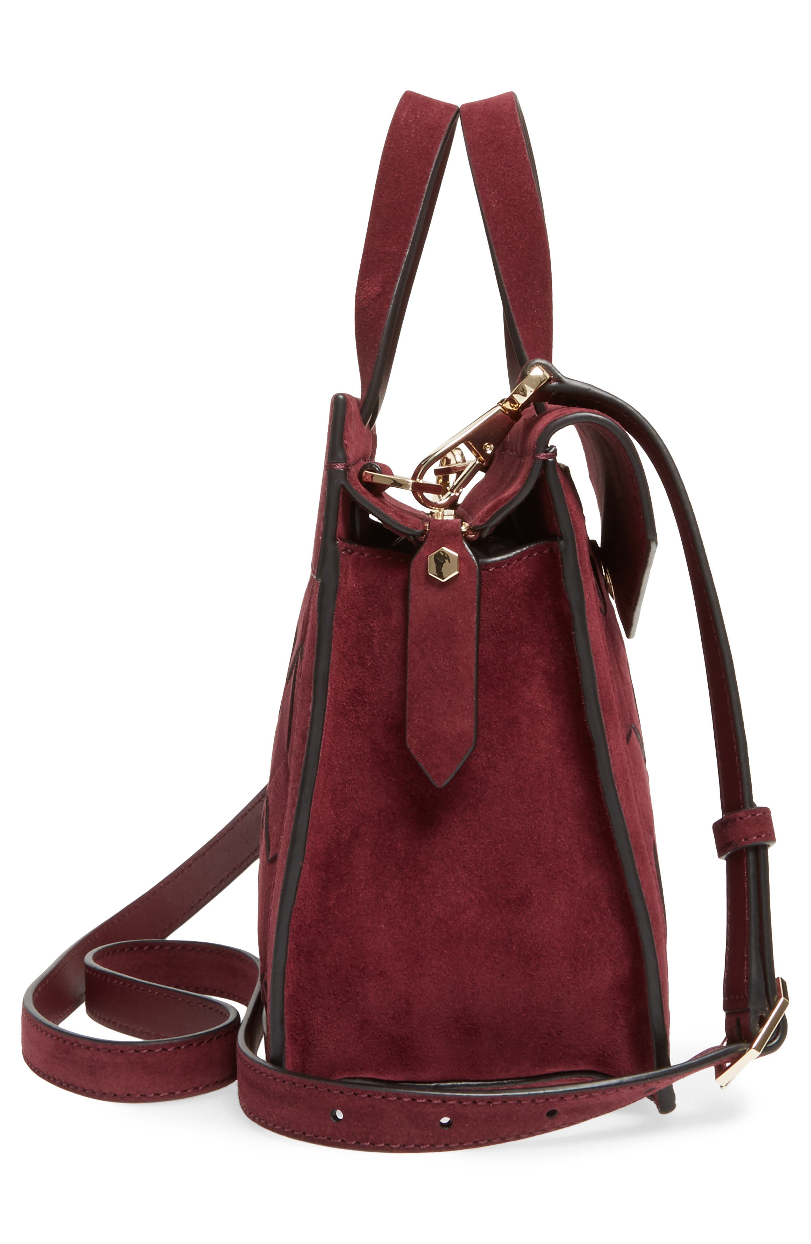 Alternate Image 4  - WELDEN Small Voyager Leather Convertible Satchel