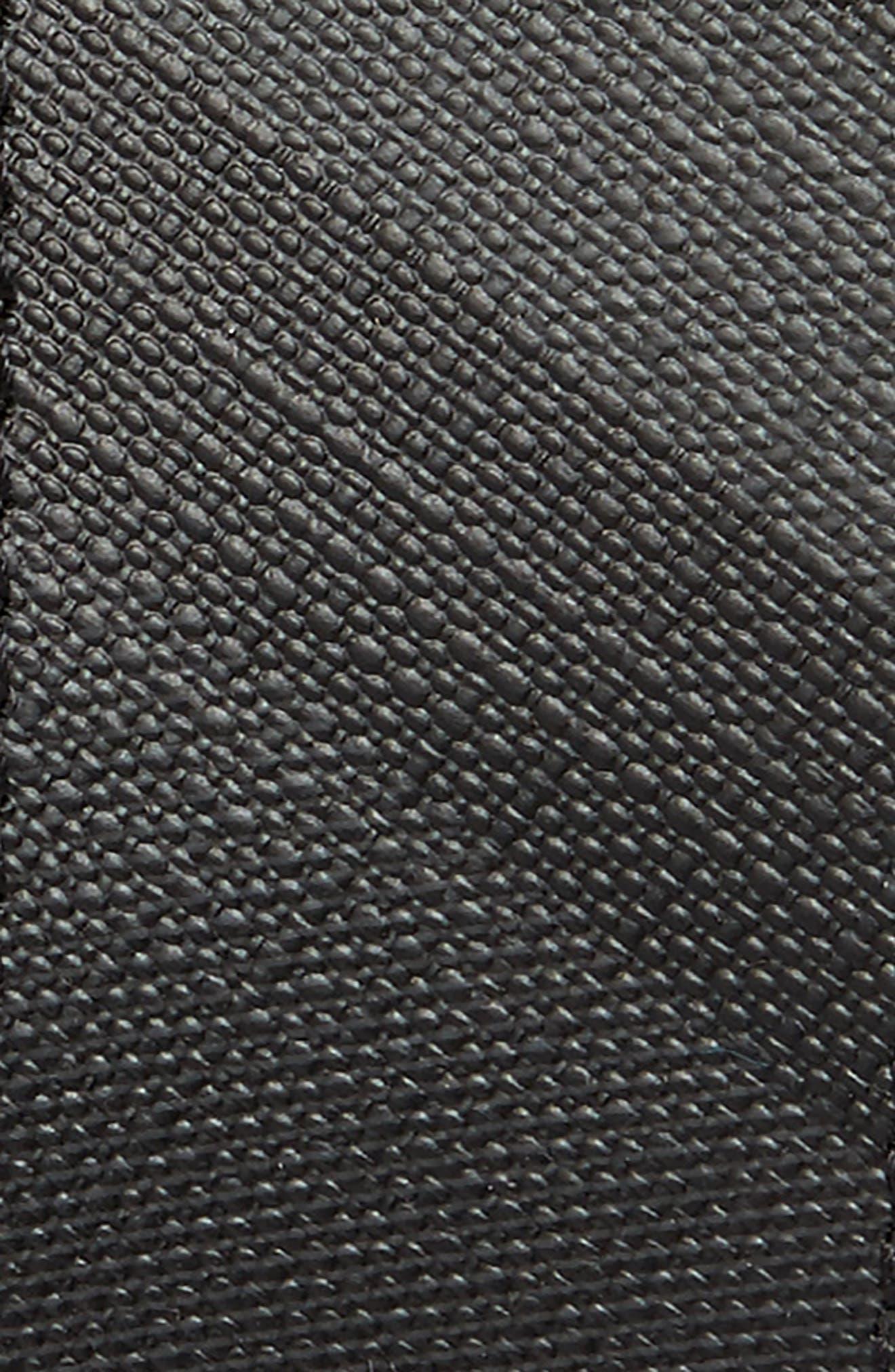 London Check Belt,                             Alternate thumbnail 2, color,                             Charcoal/ Black