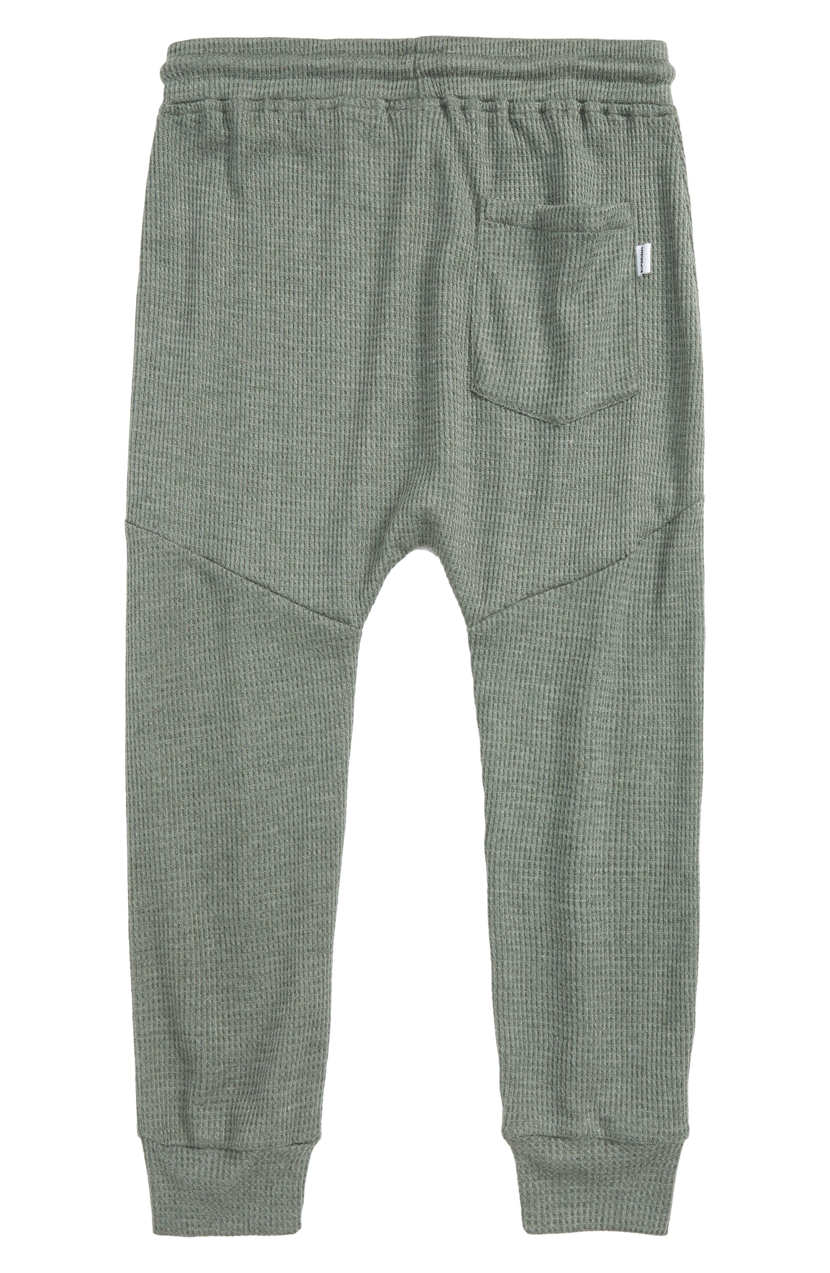 Alternate Image 2  - Superism Jude Thermal Knit Jogger Pants (Big Boys)