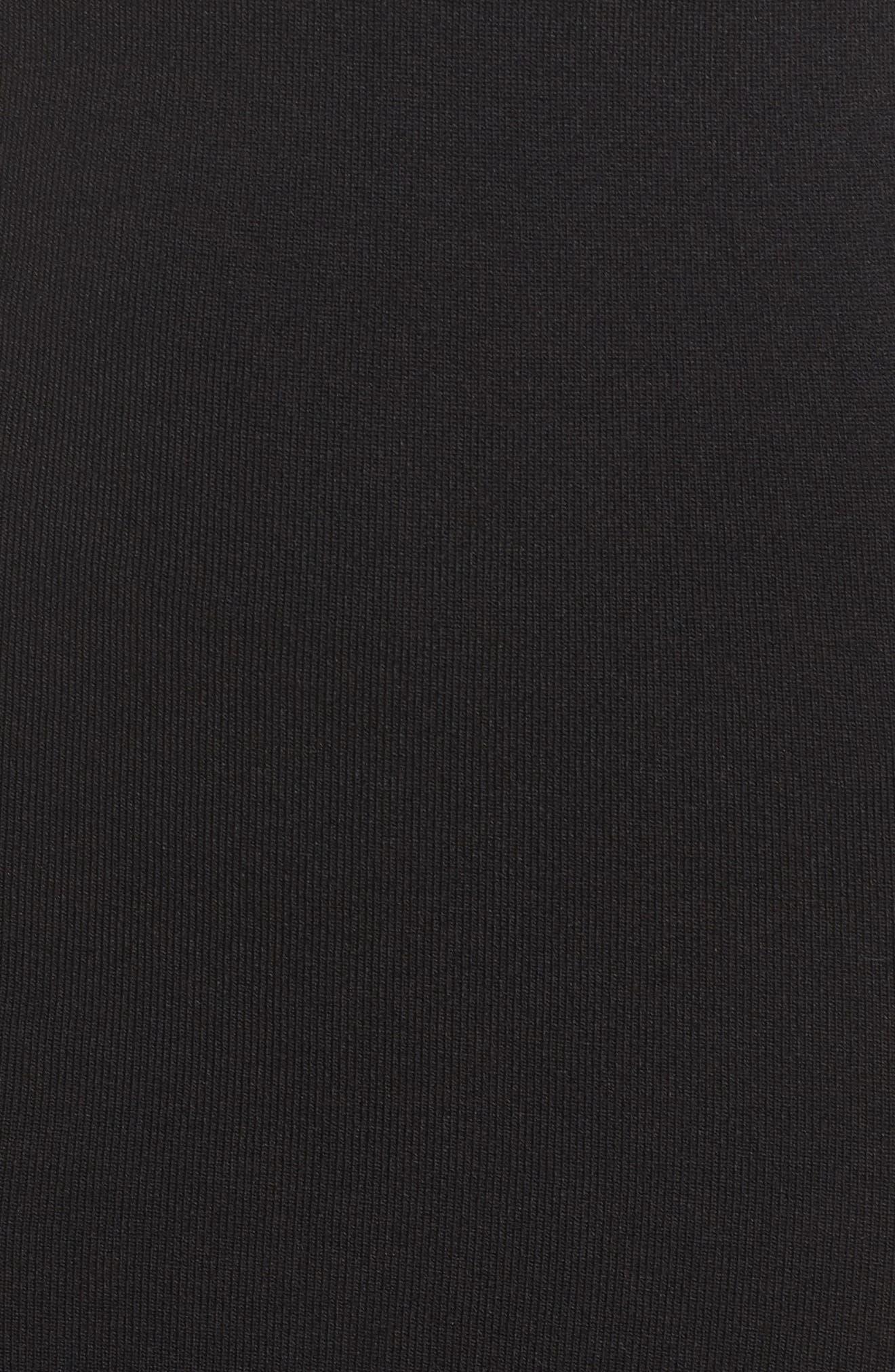 Head Over Heals Sheath Dress,                             Alternate thumbnail 5, color,                             Black