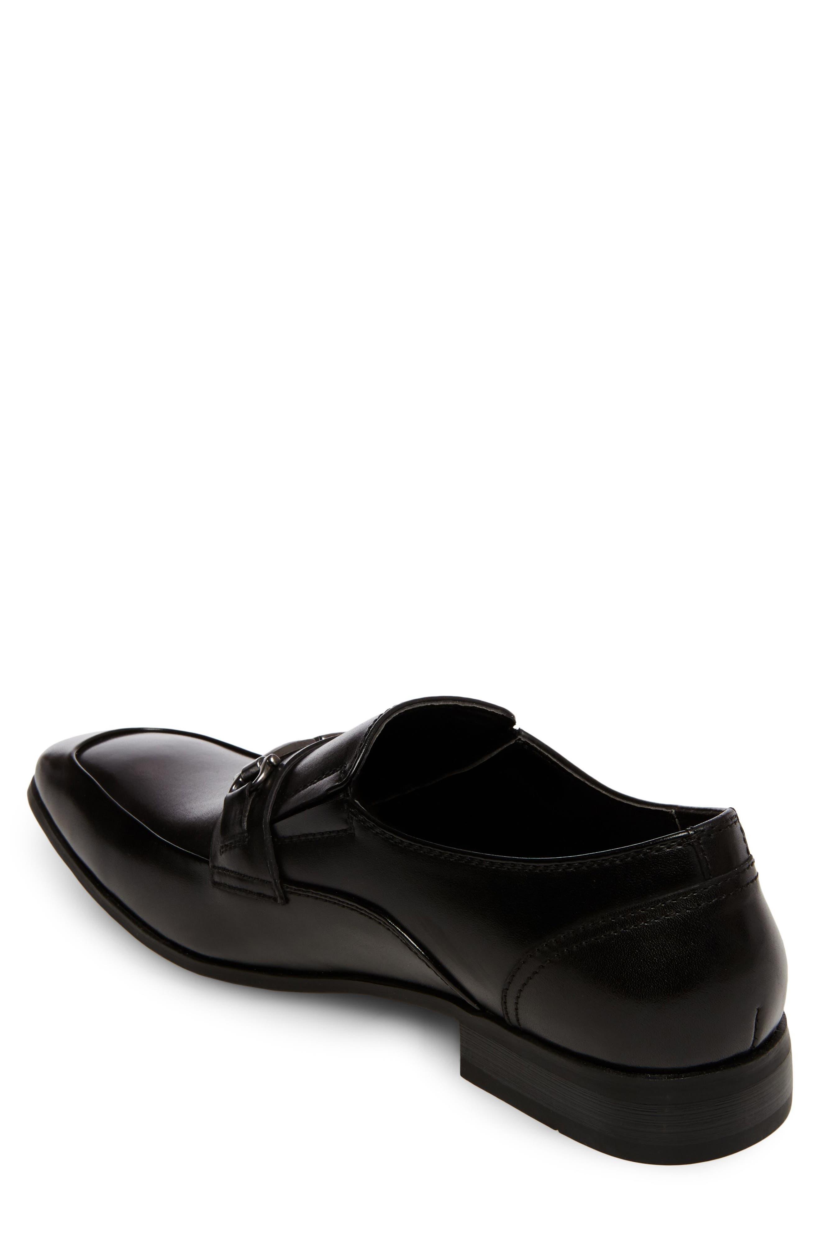Mendal Bit Loafer,                             Alternate thumbnail 2, color,                             Black