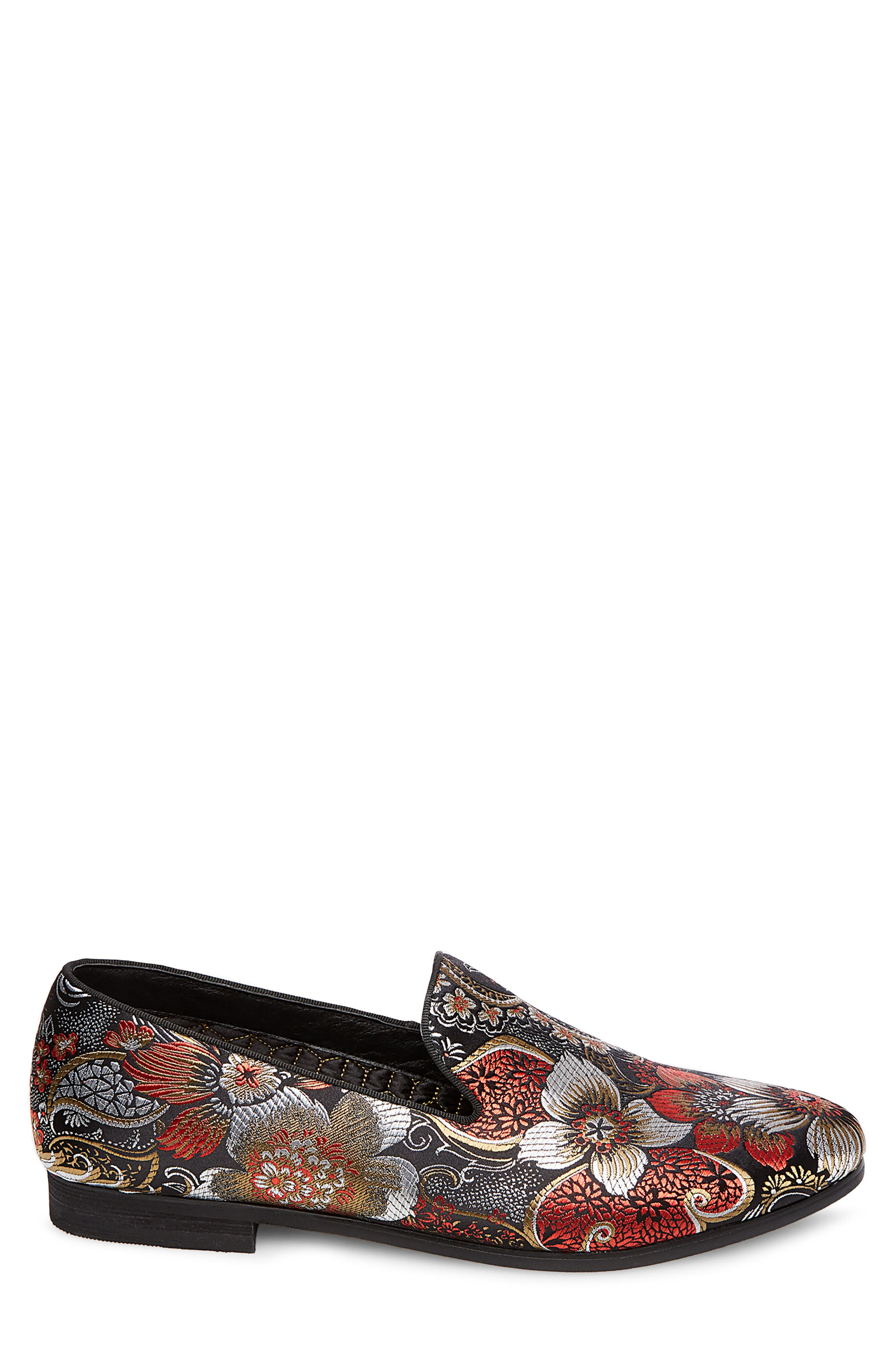 Cypress Venetian Loafer,                             Alternate thumbnail 3, color,                             Red Multi