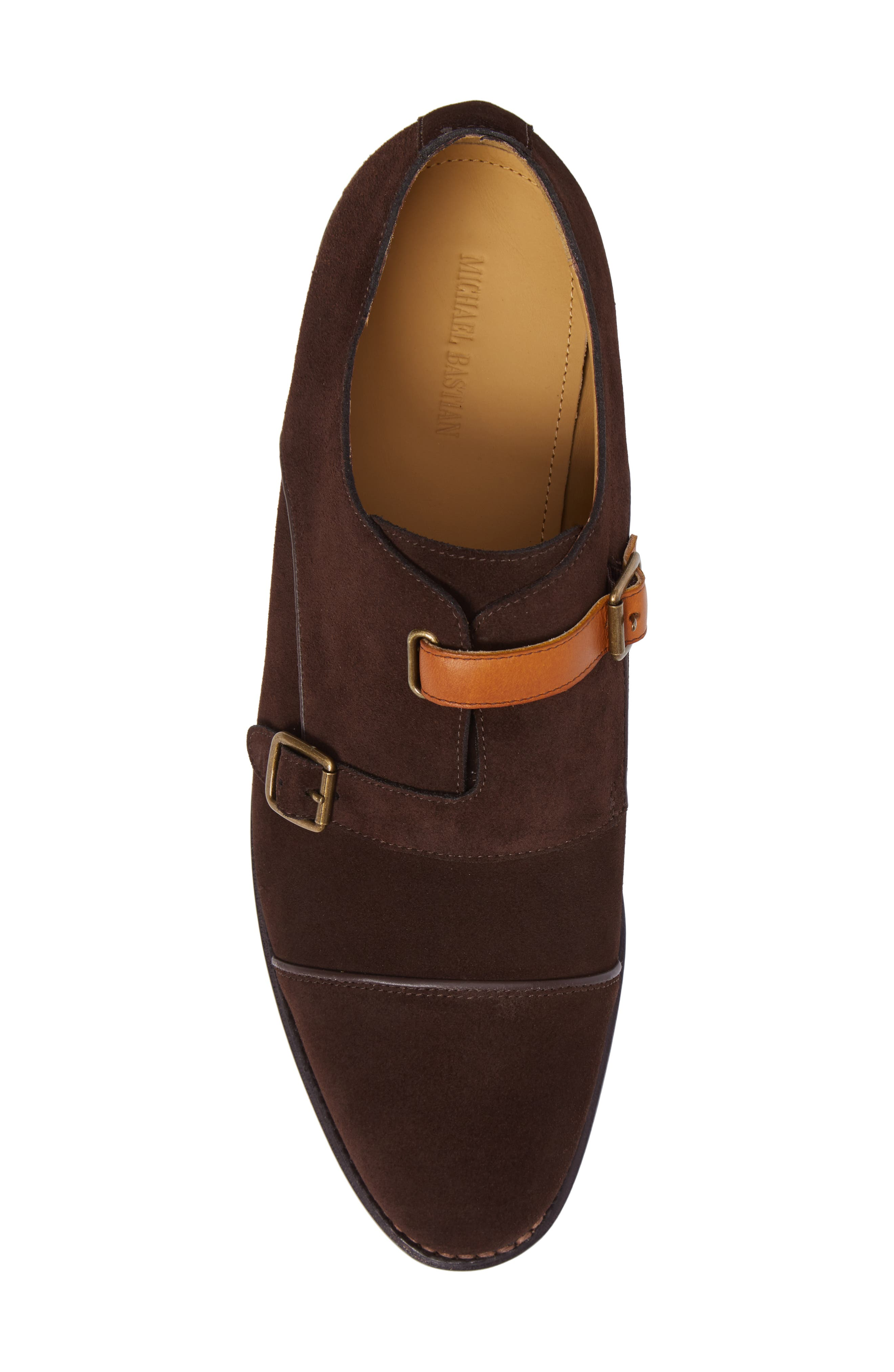 Alternate Image 5  - Michael Bastian Brando Cap Toe Monk Shoe (Men)
