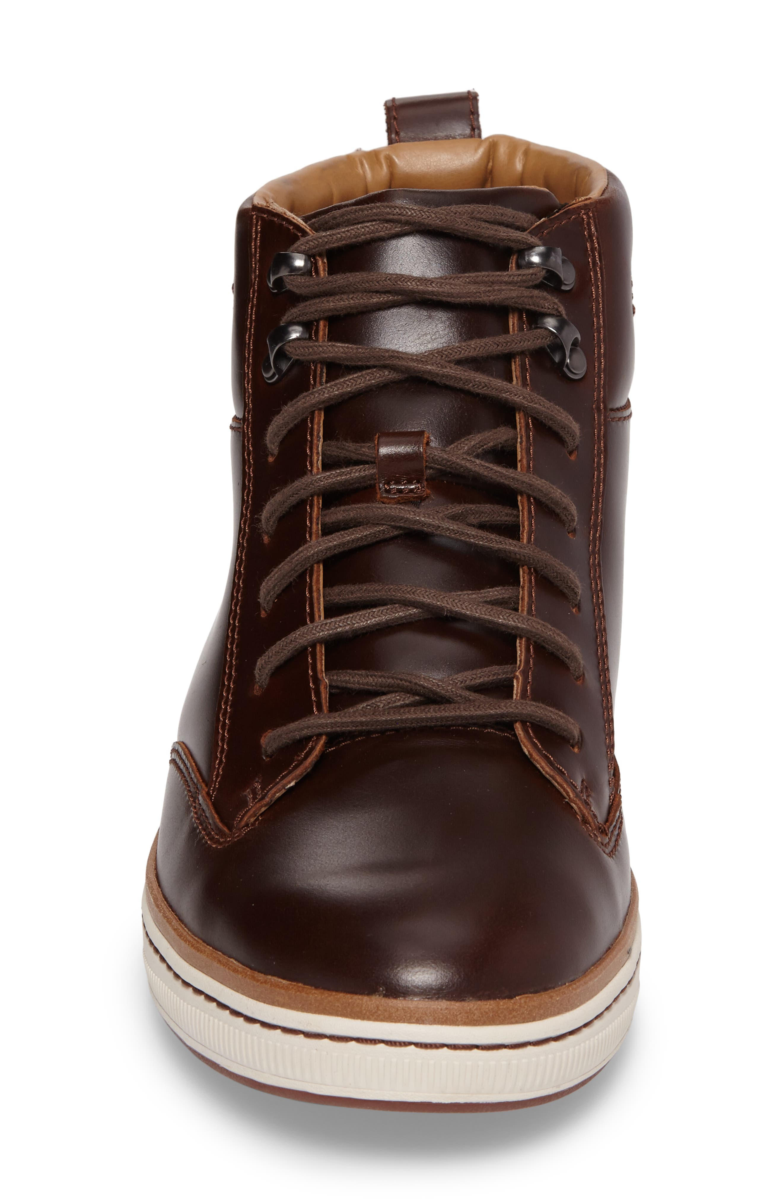 Alternate Image 4  - Clarks® Norsen Mid Water Resistant Plain Toe Boot with Faux-Fur Lining (Men)