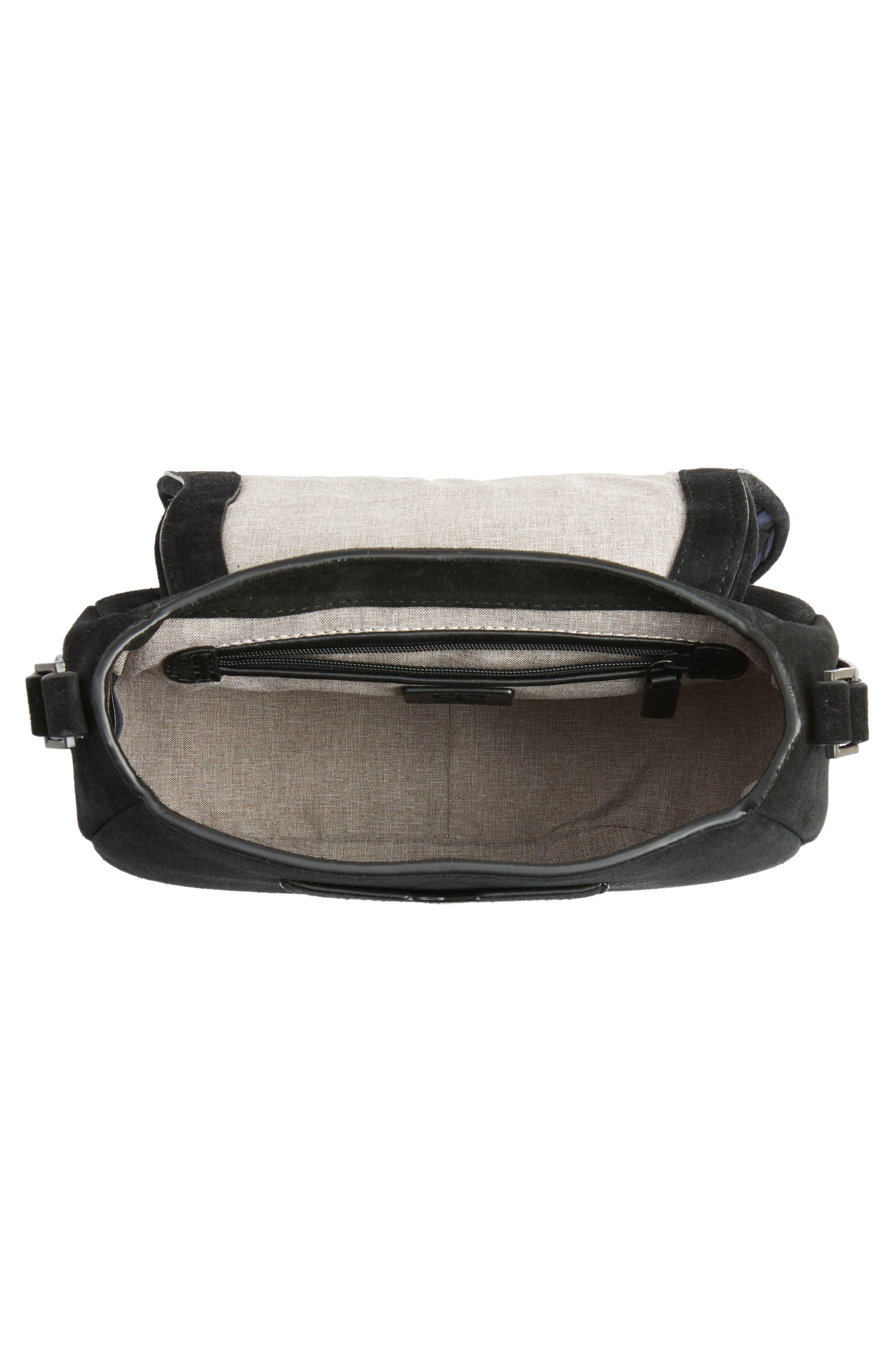 Alternate Image 4  - WELDEN Escapade Suede Saddle Bag