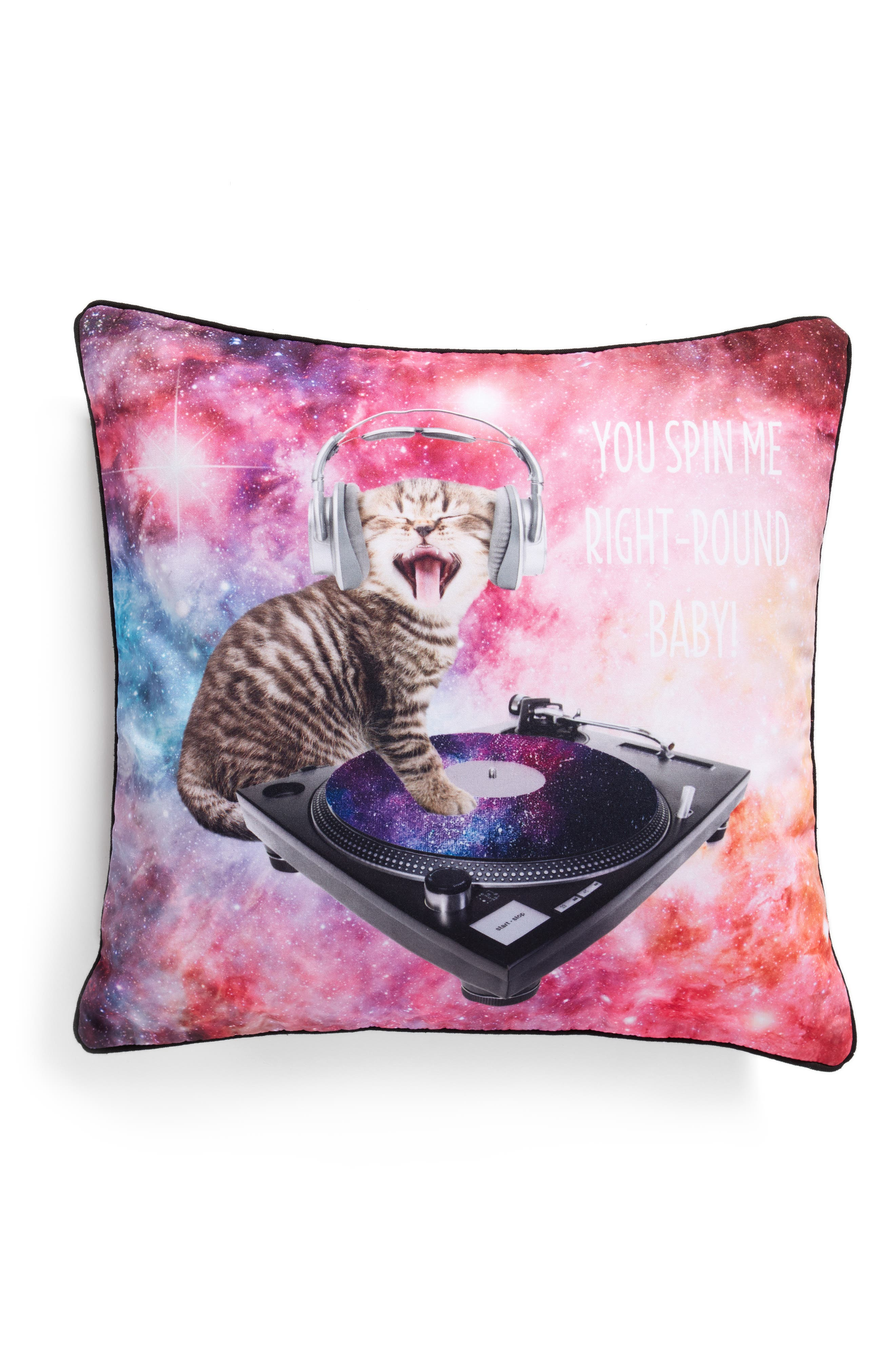 Main Image - Levtex You Spin Me Right Round Accent Pillow