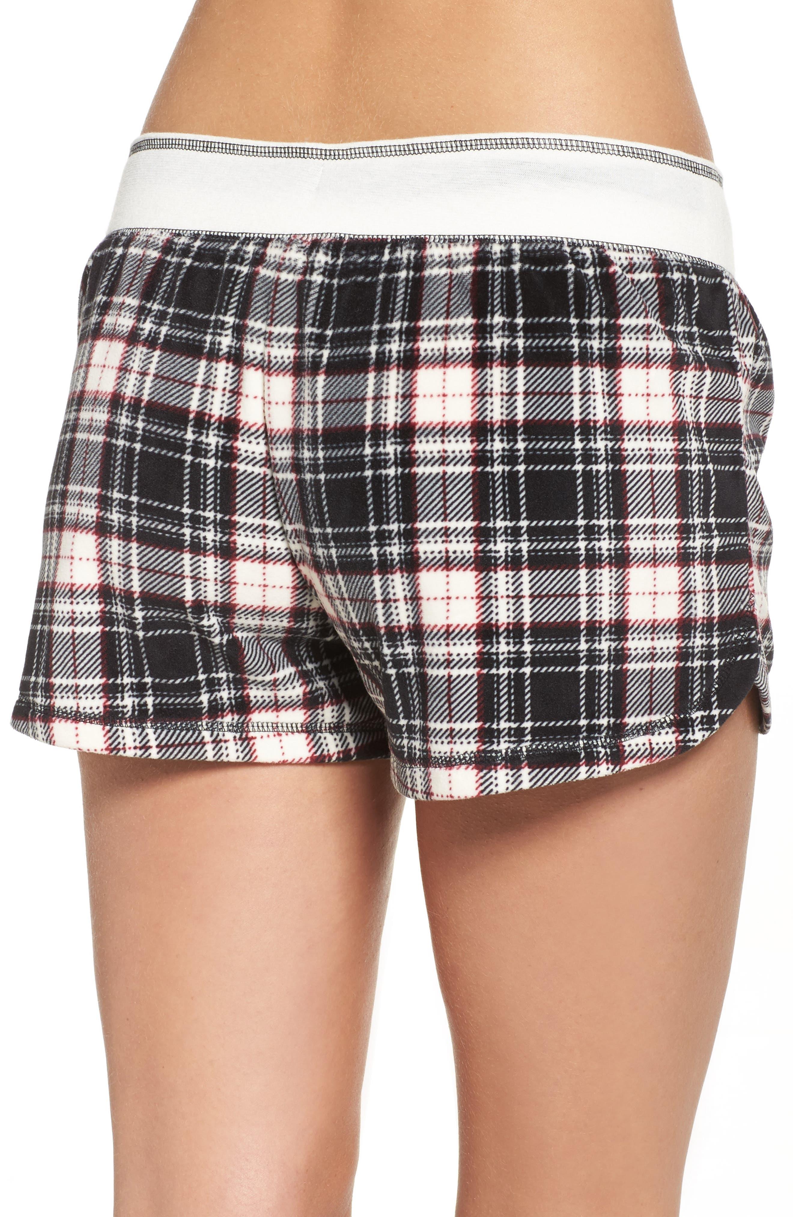Velour Shorts,                             Alternate thumbnail 2, color,                             Black
