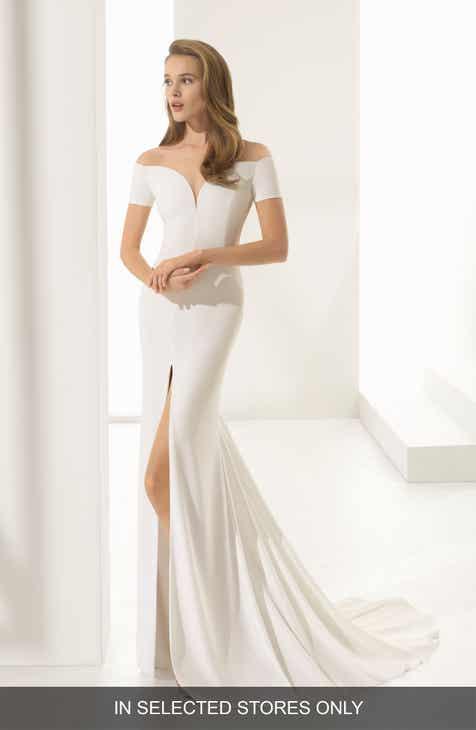 Off The Shoulder Wedding Dresses Bridal Gowns Nordstrom