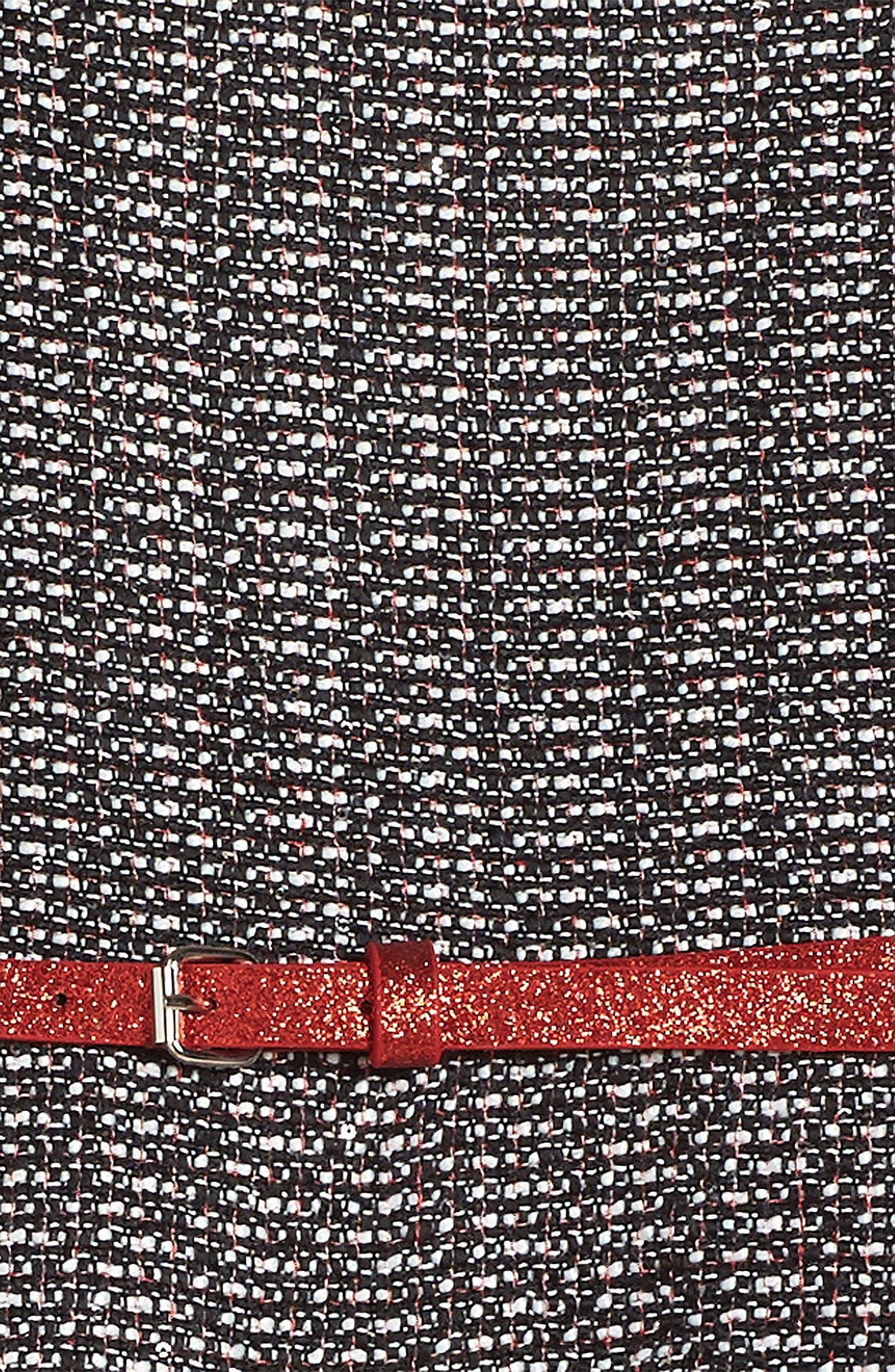 Alternate Image 3  - Dorissa Ella Tweed Dress (Big Girls)