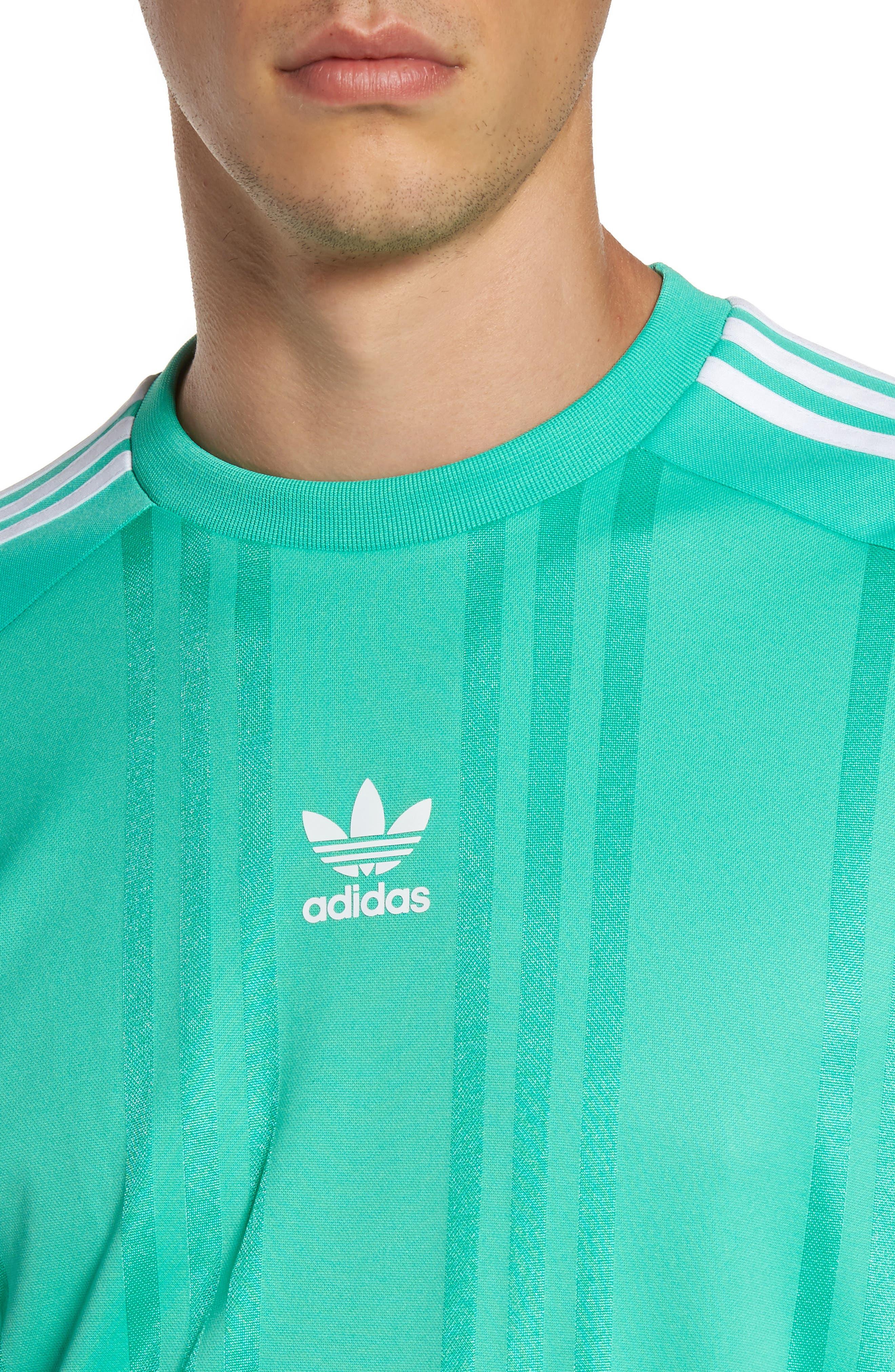 Alternate Image 4  - adidas Originals Jacquard Stripe T-Shirt