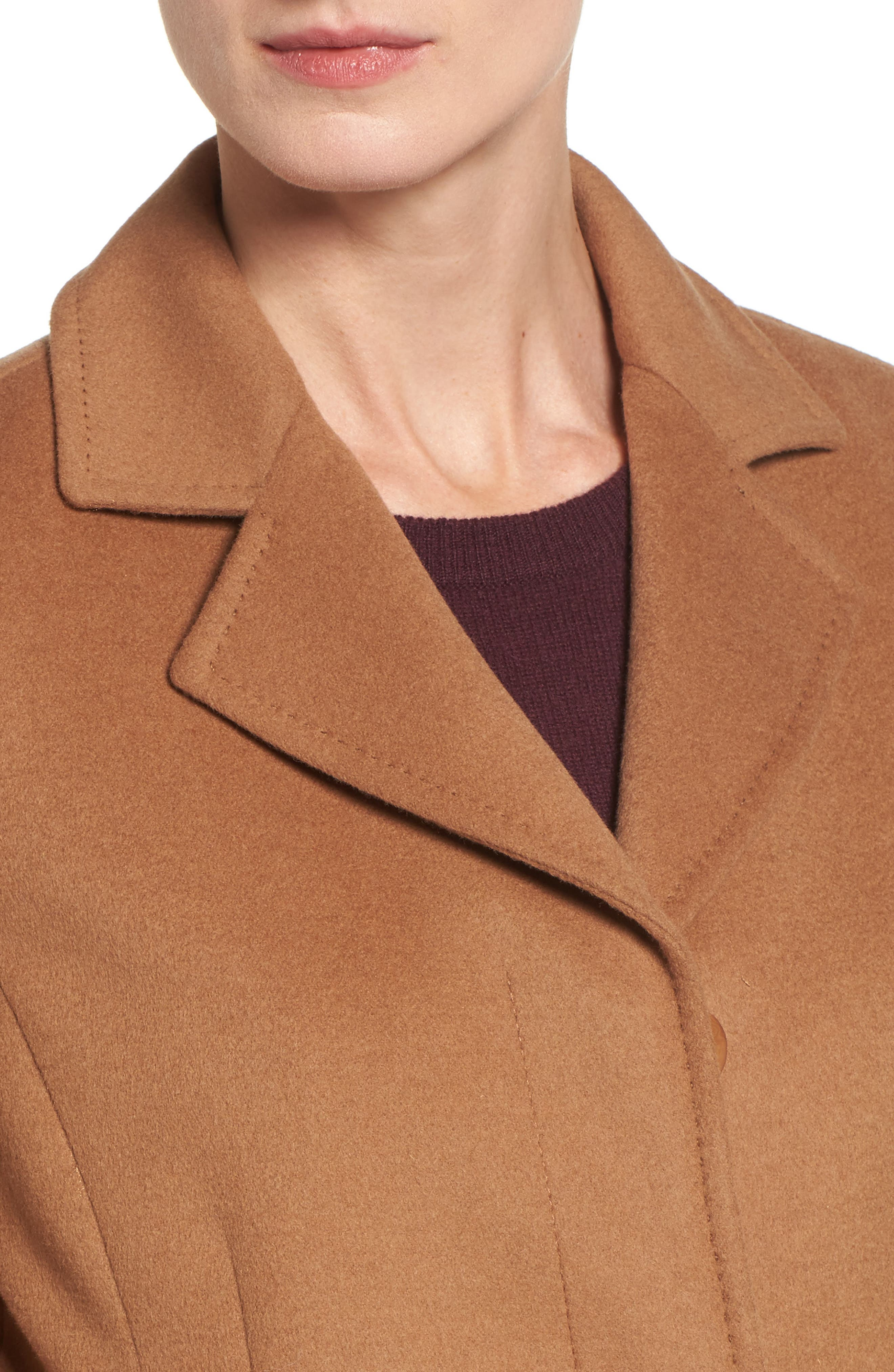 Alternate Image 4  - trina Trina Turk Emi Wool Blend Coat
