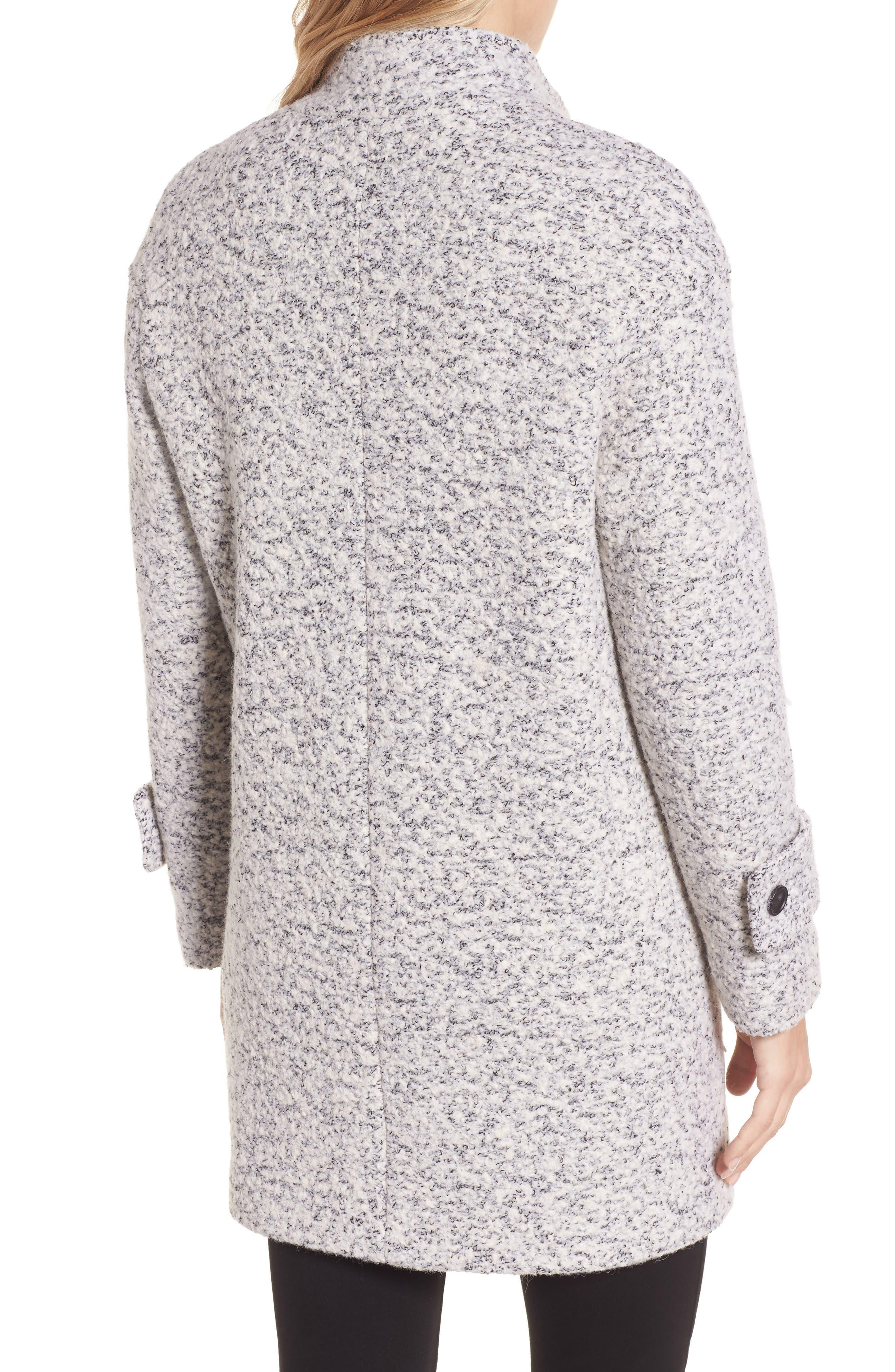 Alternate Image 2  - Lucky Brand Boiled Wool Coat