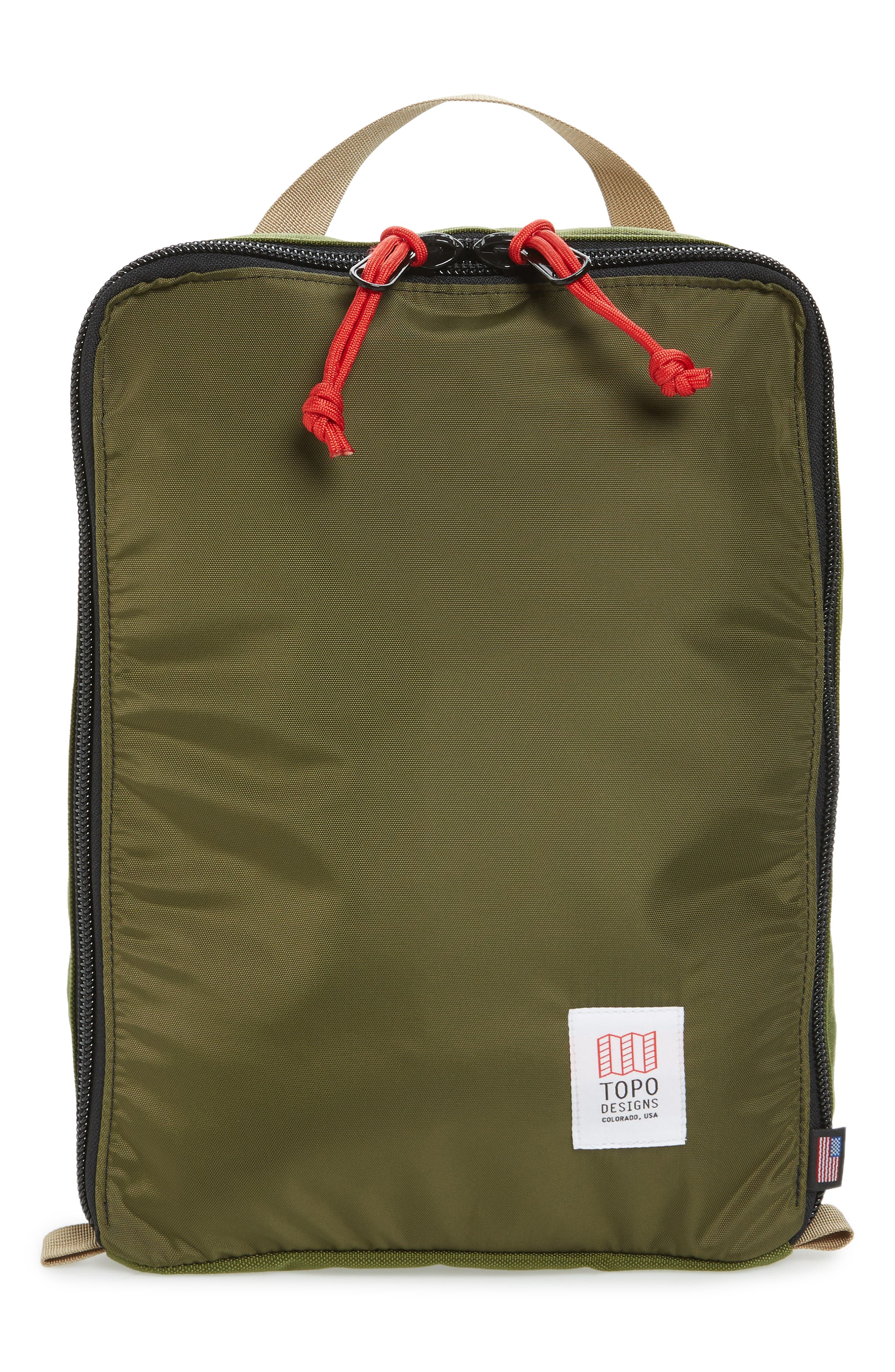 TOPO DESIGNS PACK BAGS TOTE - GREEN